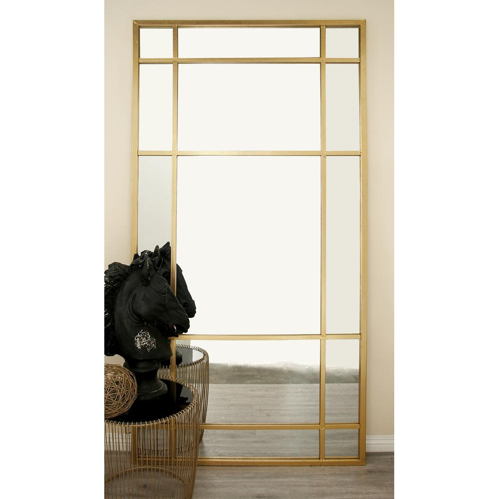 Gold Framed Wall Mirrors For Widely Used 80 In. X 40 In (View 9 of 20)