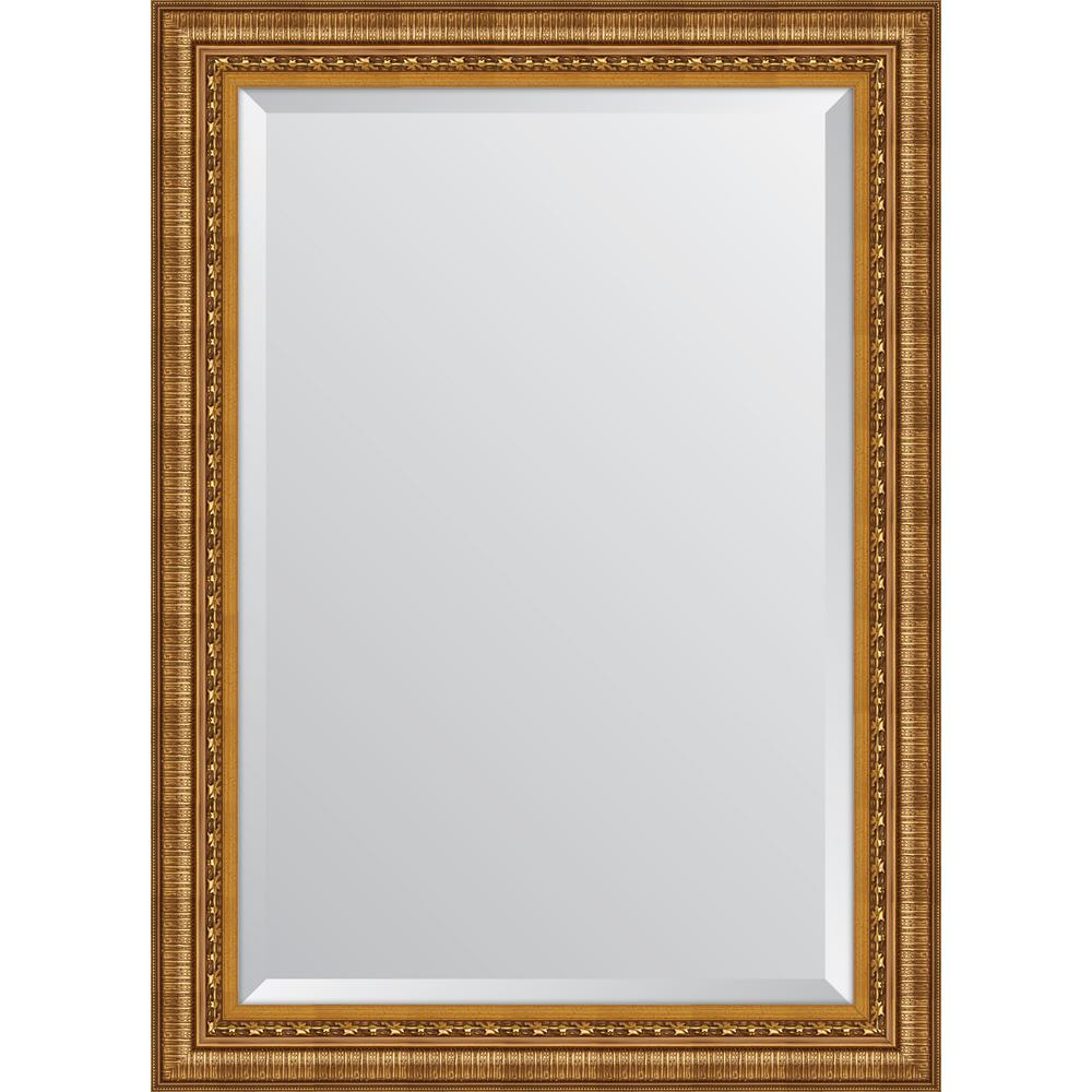 Gold Framed Wall Mirrors With Regard To Most Up To Date 31.5 In. X 43.5 In (View 20 of 20)