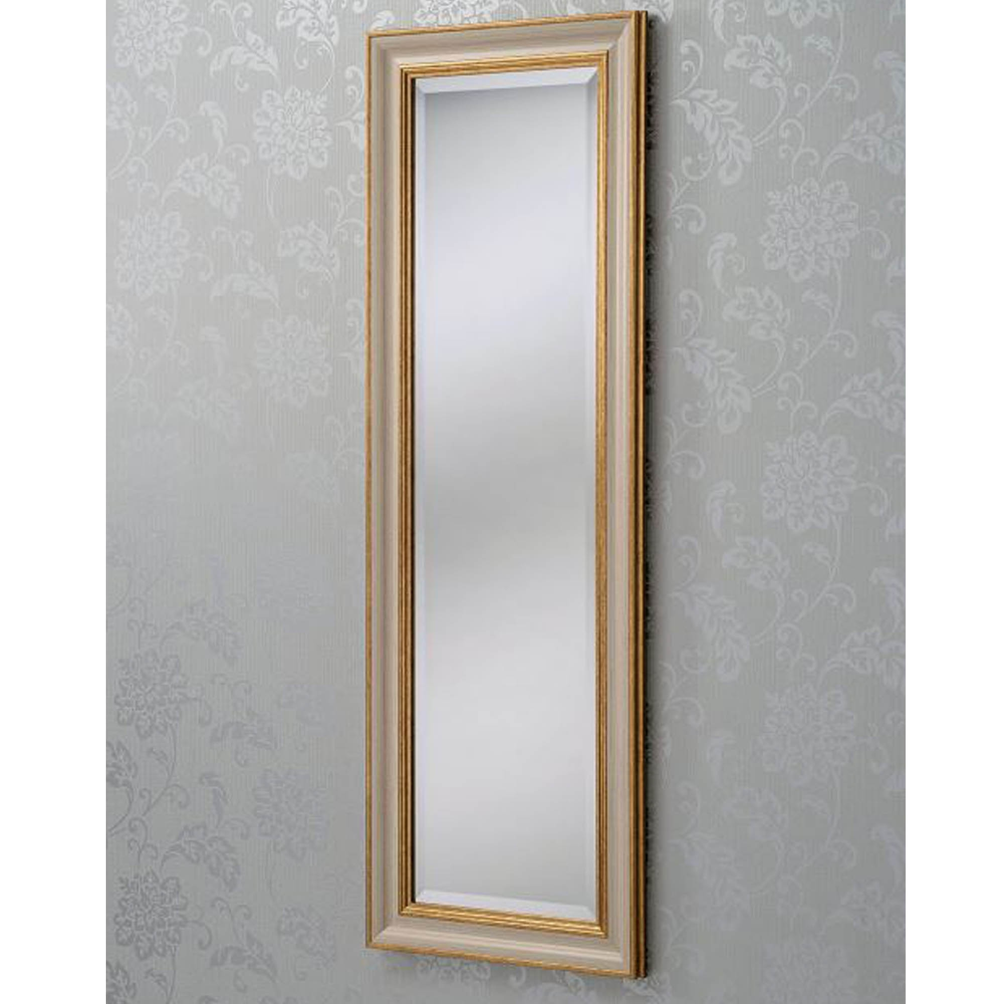 Gold Ivory Rectangular Wall Mirror With Newest Ivory Wall Mirrors (View 5 of 20)