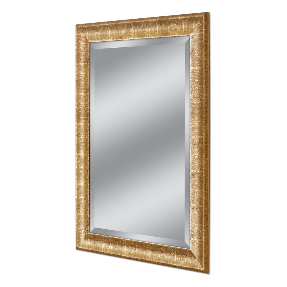 Gold Wall Mirrors With Latest Deco Mirror Soho 37 In. W X 47 In (View 19 of 20)