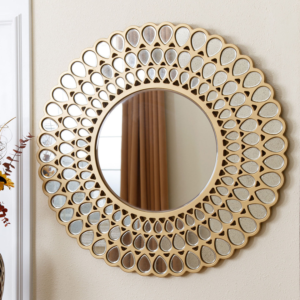 "Good Round Wall Mirrors — Mom's Tamales From ""tips On Using In Best And Newest Round Wall Mirrors (View 19 of 20)"