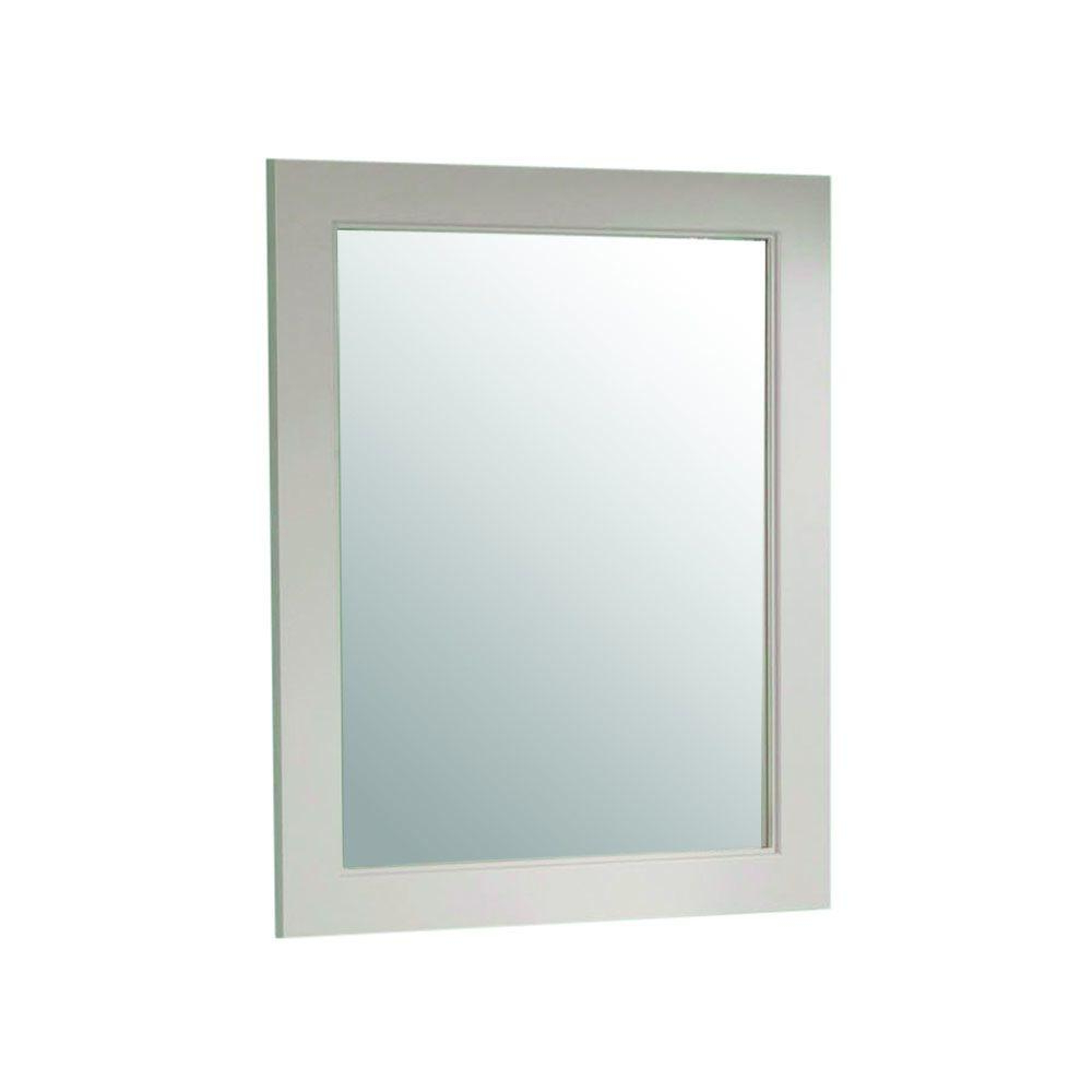 Gray Wall Mirrors Intended For Most Popular Martha Stewart Living Seal Harbor 23 In. X 28 In (View 5 of 20)