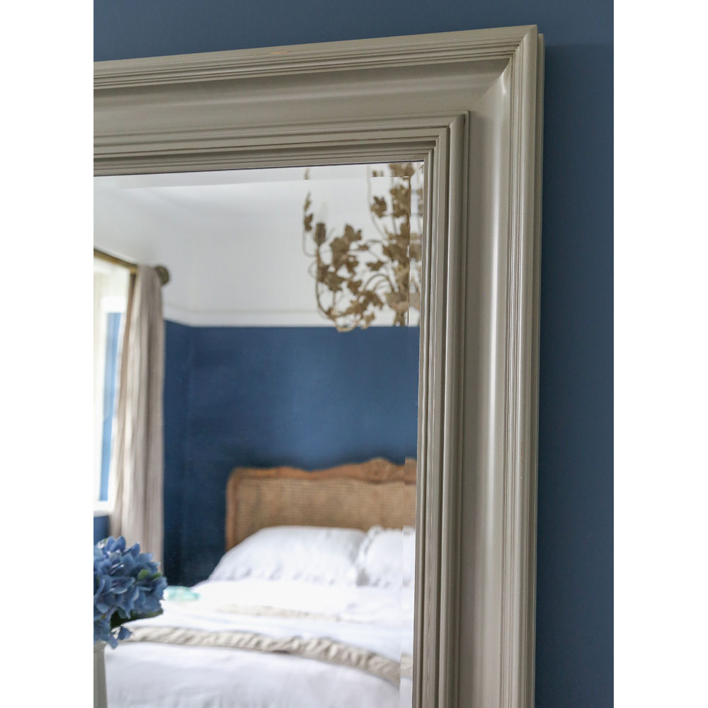 Grey Wall Mirror Pertaining To Well Liked Wall Mirrors For Bedroom (View 17 of 20)