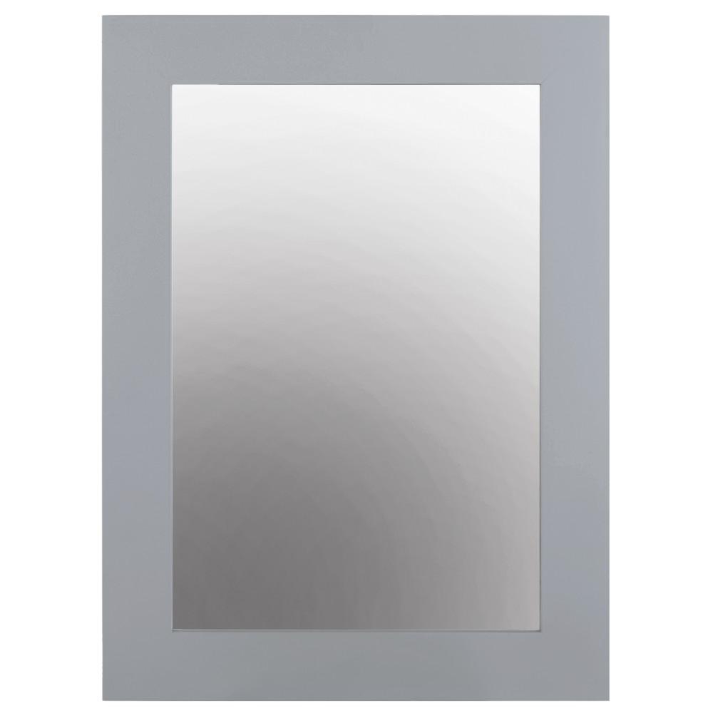 Grey Wall Mirrors For 2019 Home Decorators Collection Sonoma 22 In. W X 30 In (View 7 of 20)