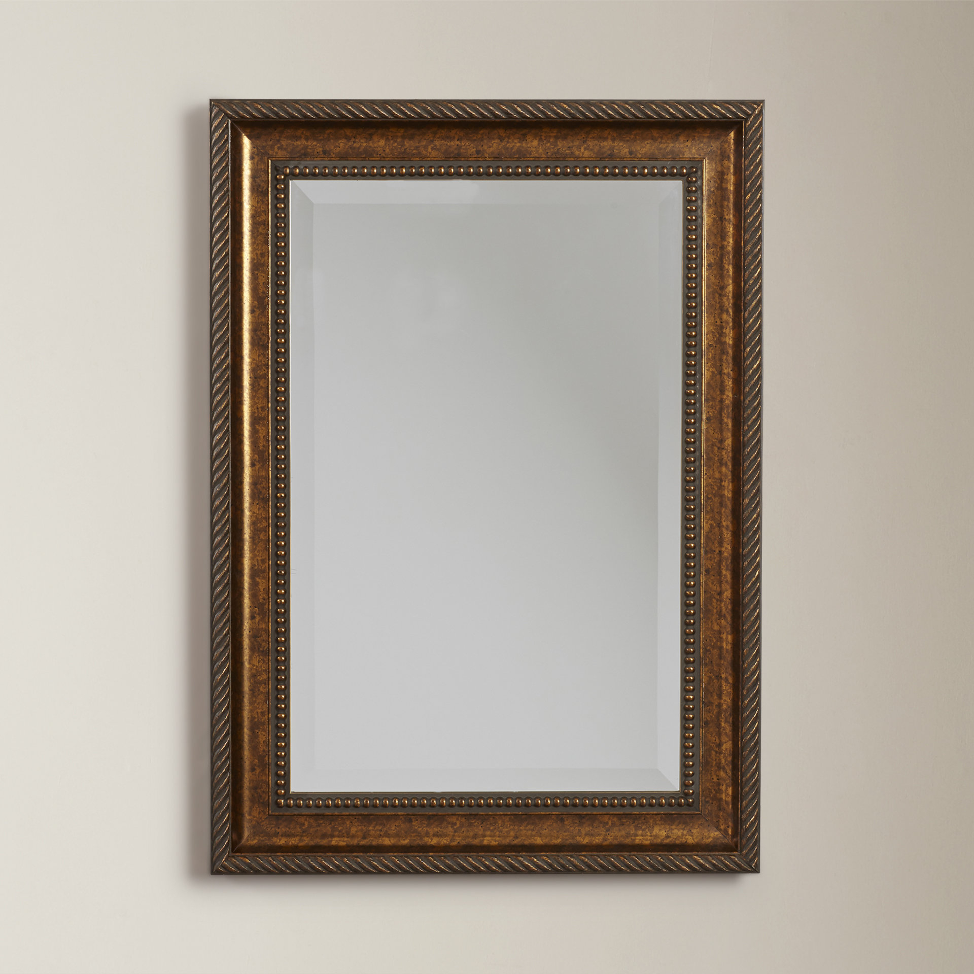 Grid Accent Mirrors Pertaining To Trendy Beveled Accent Mirror (Gallery 18 of 20)