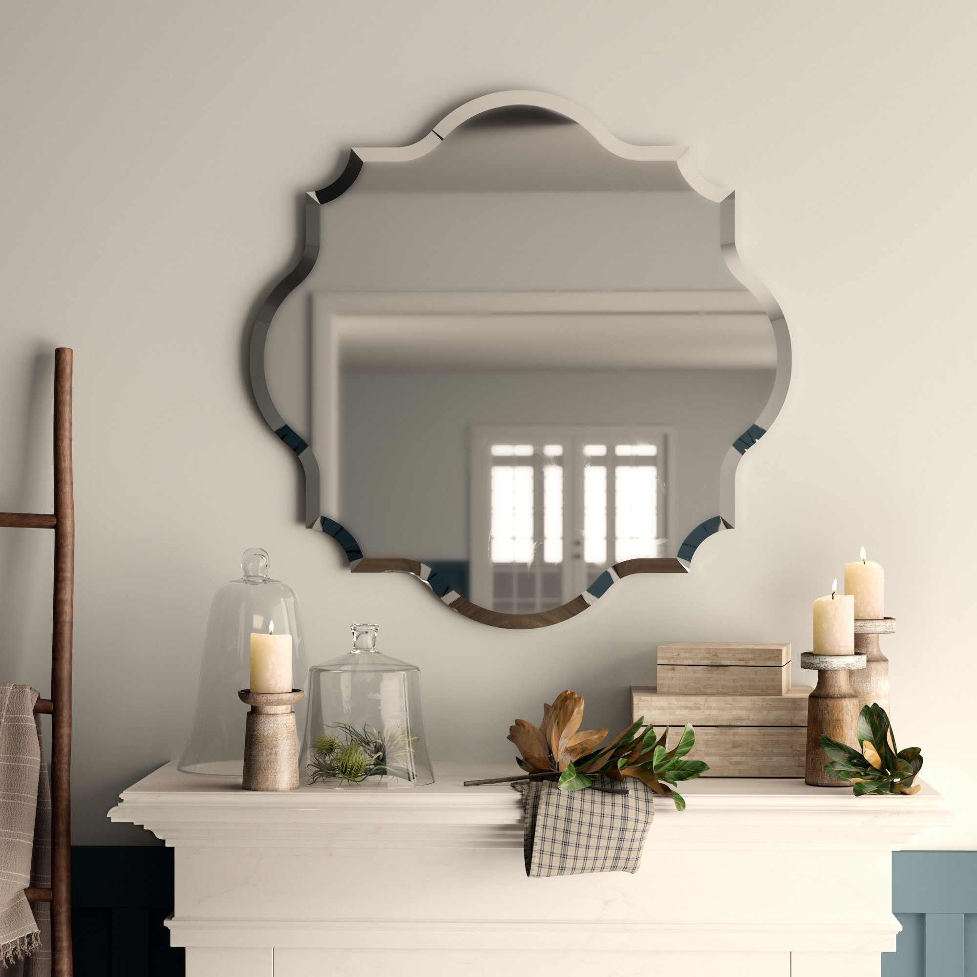 Guidinha Modern & Contemporary Accent Mirrors Intended For Well Known Helder Modern & Contemporary Wall Mirror (View 17 of 20)