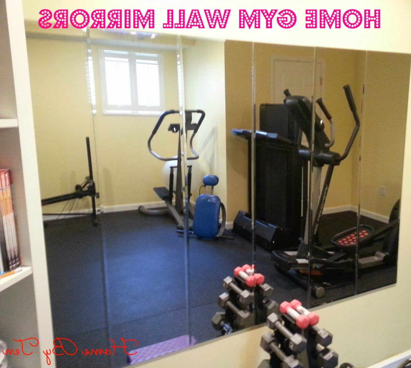 Gym Wall Mirrors Inside Popular Hometen – Cheap Home Gym Wall Mirrors (View 9 of 20)