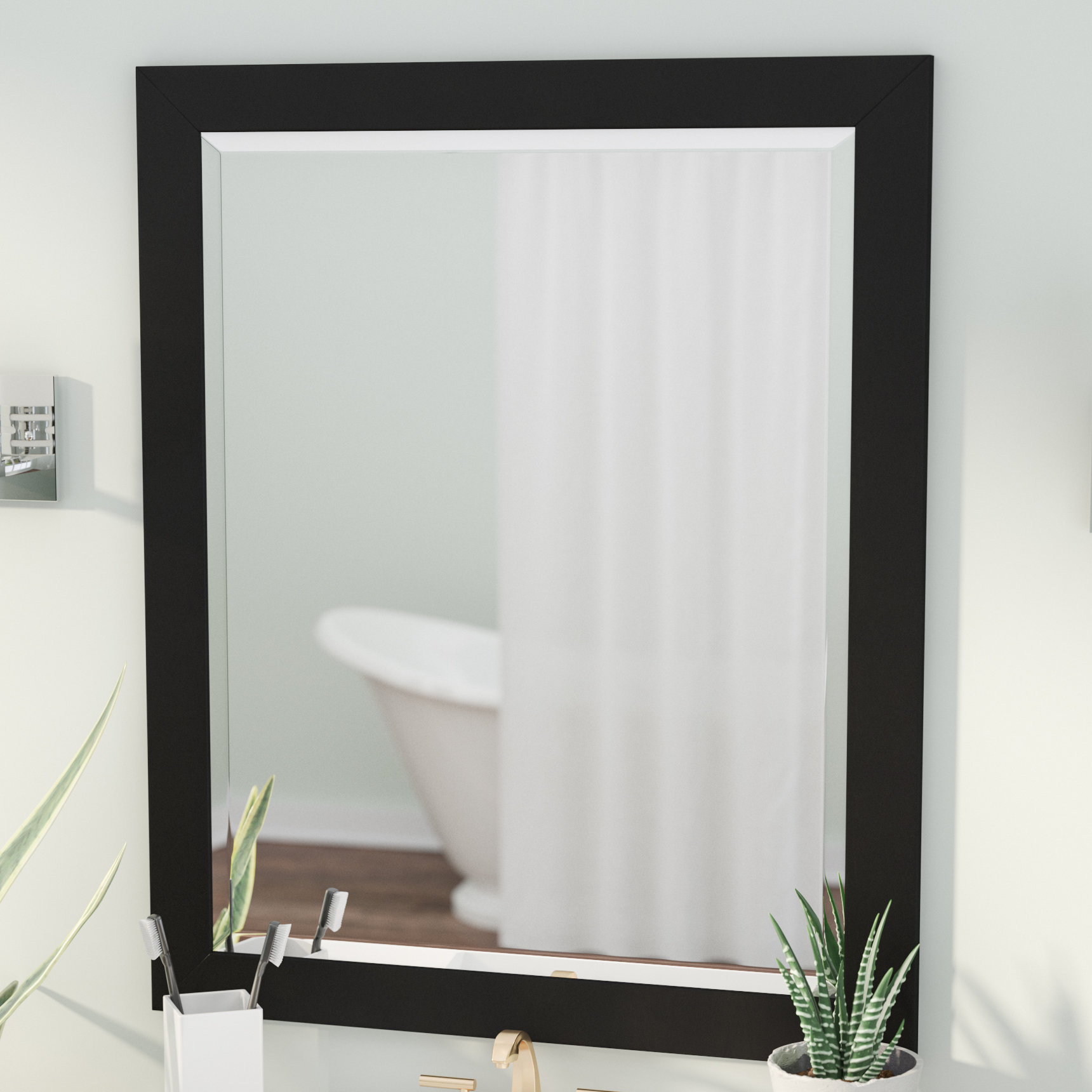 Handcrafted Beveled Vanity Wall Mirror With Regard To Most Current Vanity Wall Mirrors (View 17 of 20)