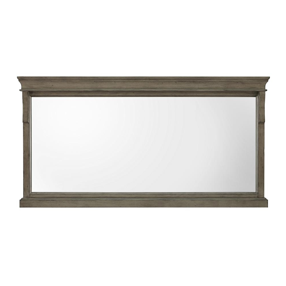 Hanging Wall Mirrors For Bathroom Intended For Widely Used Details About 60 X 31 Single Framed Wall Mirror Rectangle Decorative Hanging Bathroom Vanity (View 16 of 20)