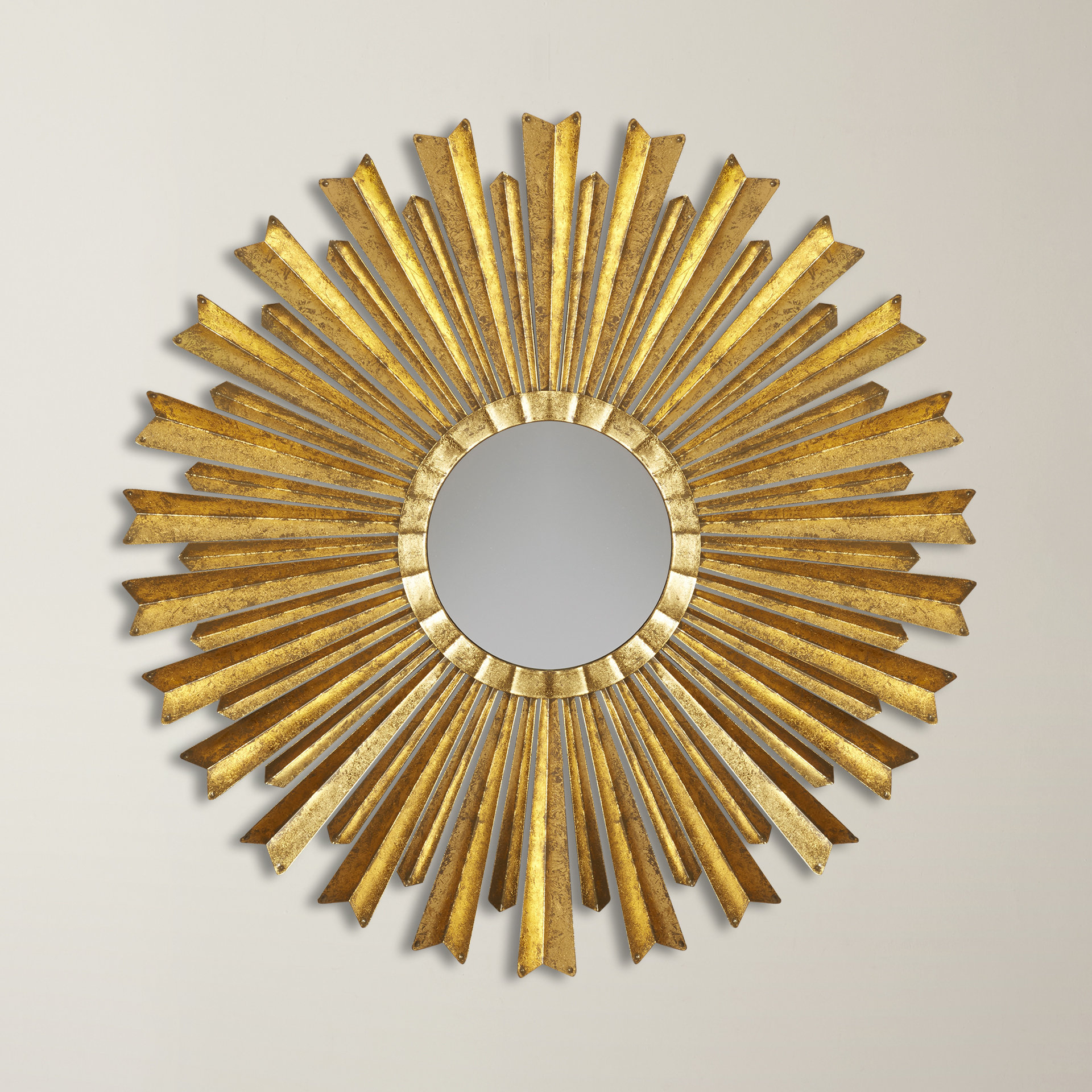 Harbert Modern And Contemporary Distressed Accent Mirrors With Regard To Preferred Birksgate Sunburst Accent Mirror (Gallery 10 of 20)