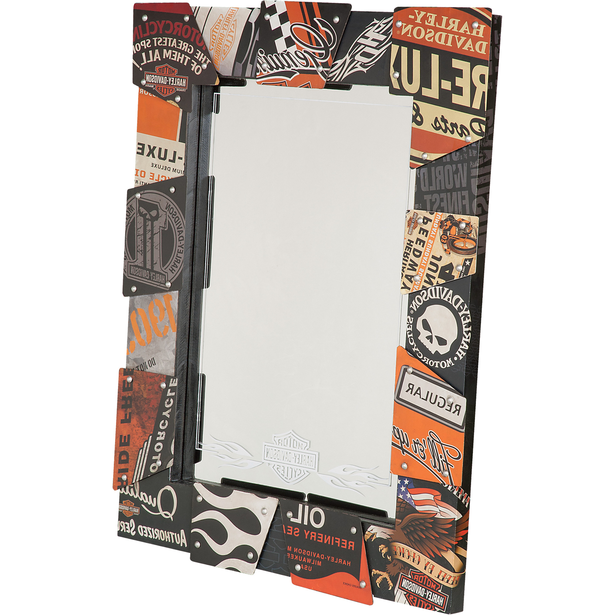Harley Davidson Wall Mirrors – Mirror Ideas Pertaining To Newest Harley Davidson Wall Mirrors (Gallery 9 of 20)