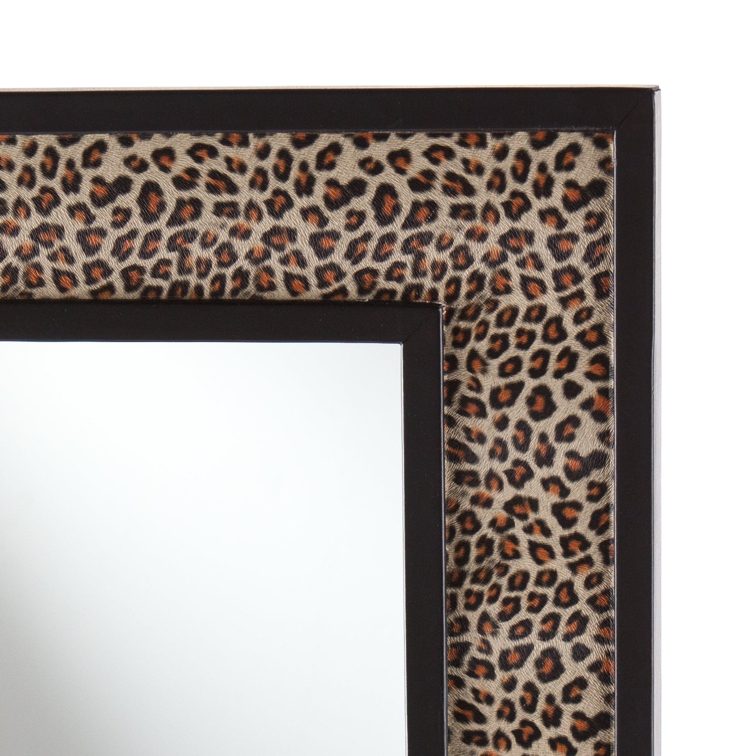Harper Blvd Pavia Leopard Animal Print Decorative Wall Mirror Throughout Most Up To Date Leopard Wall Mirrors (Gallery 6 of 20)