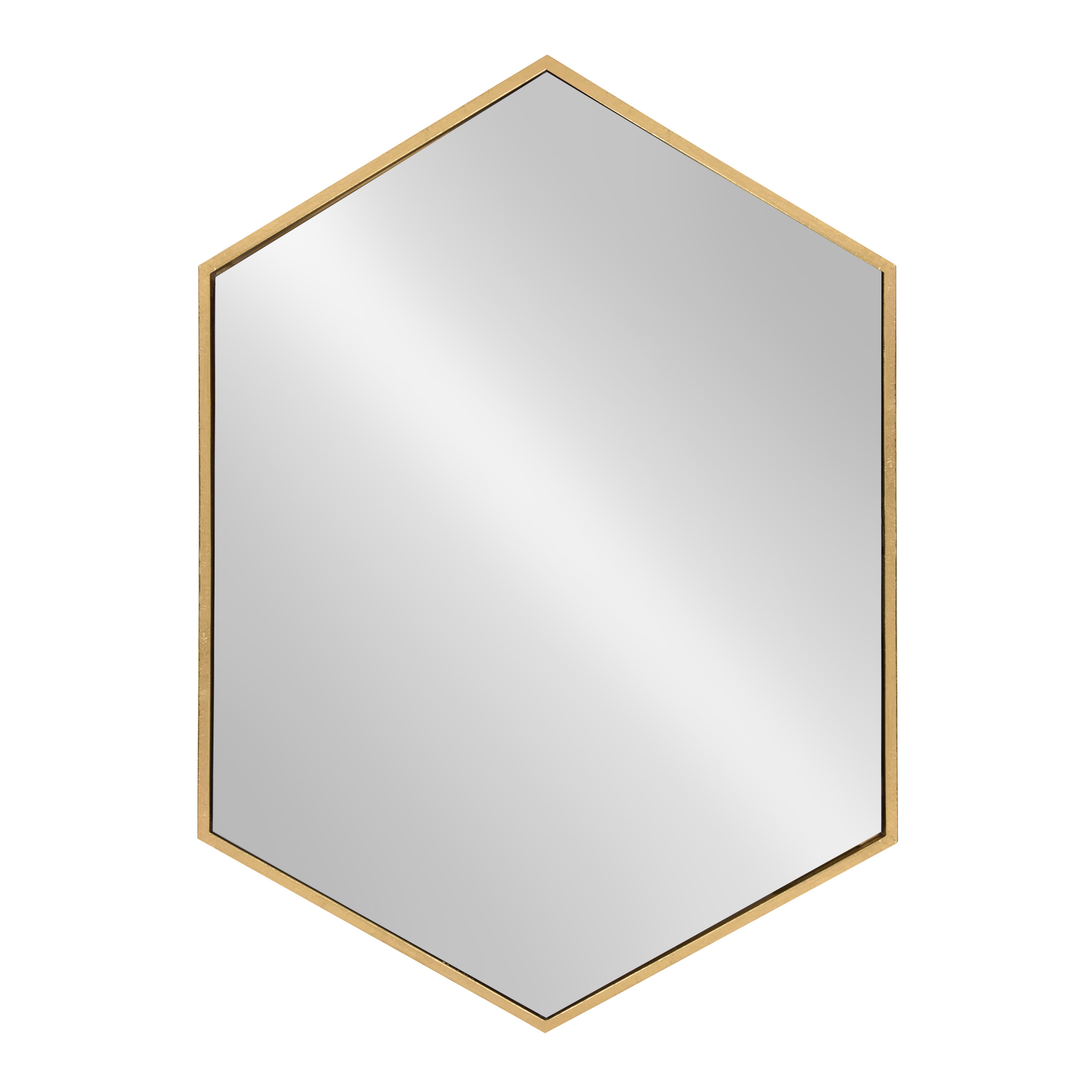 Hentz Hexagon Wall Mirror With Most Up To Date Bem Decorative Wall Mirrors (Gallery 17 of 20)