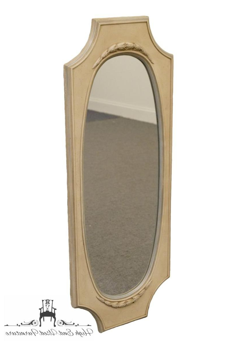 High End Wall Mirrors With Current High End French Provincial 17X44 Wall Mirror (Gallery 14 of 20)