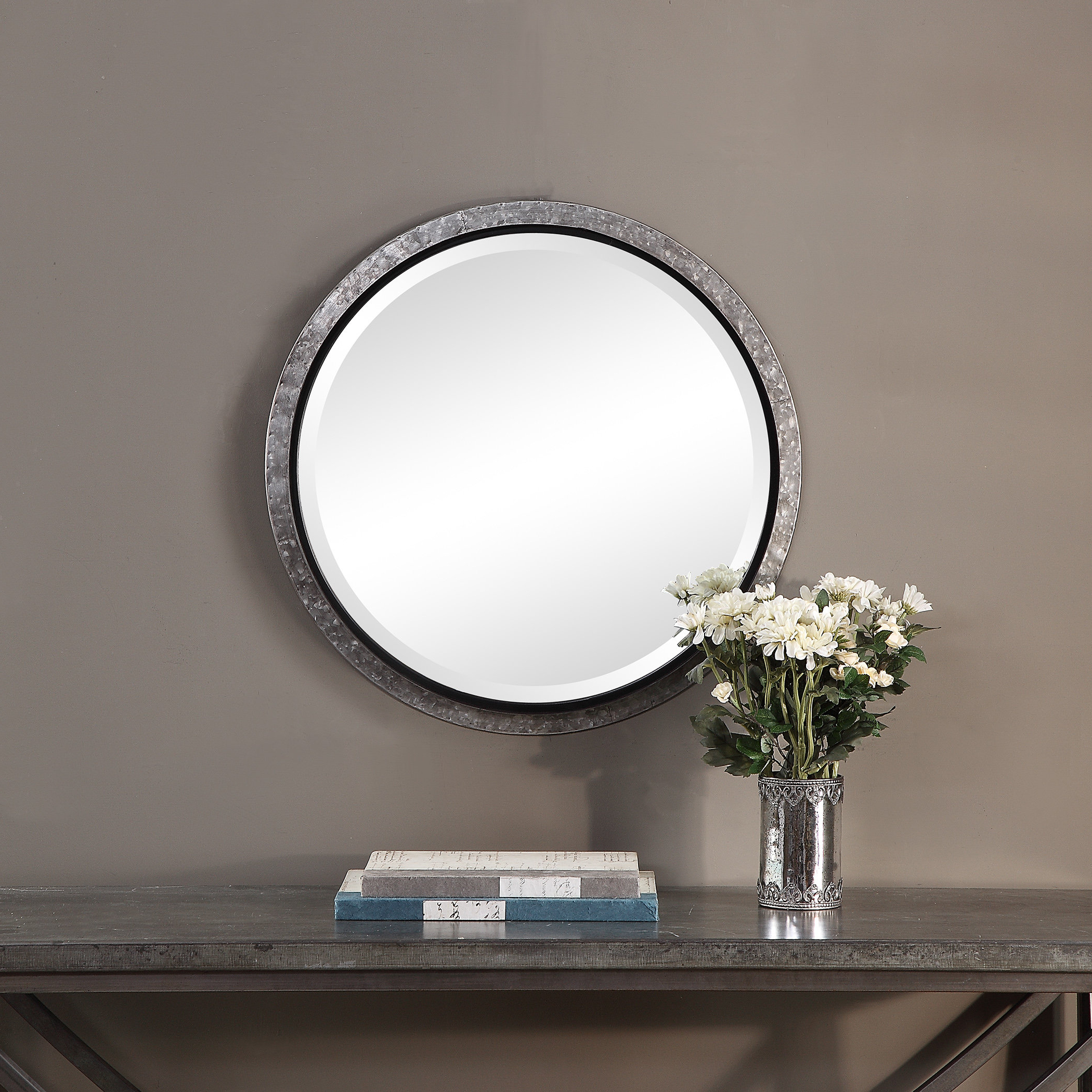 Hilde Traditional Beveled Bathroom Mirrors Within Widely Used Castle Accent Mirror (View 10 of 20)