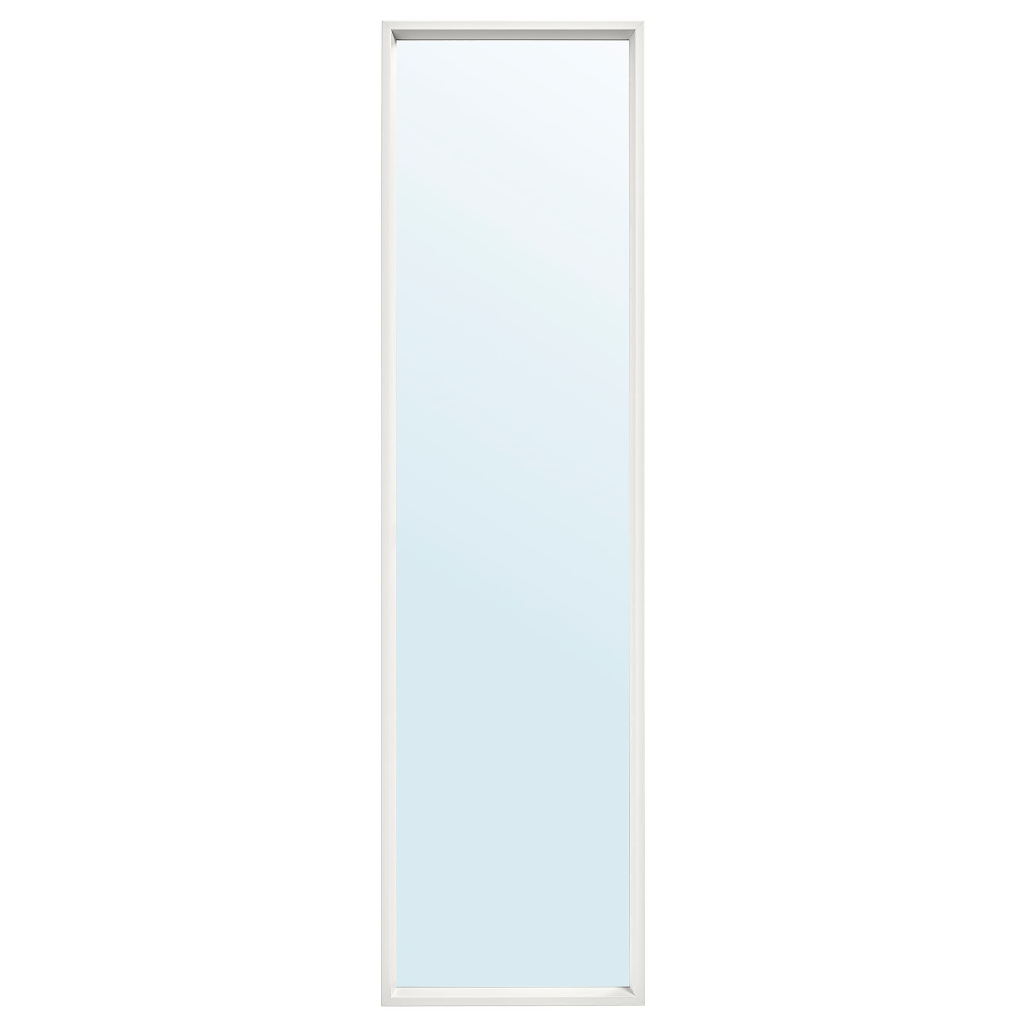 Hinged Wall Mirrors With Favorite Mirror Nissedal White (Gallery 14 of 20)