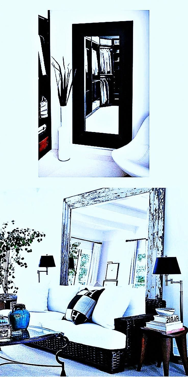 Hinged Wall Mirrors Within Most Recent Hinged Bathroom Mirror – See The – #modernhallwaymirror (View 6 of 20)