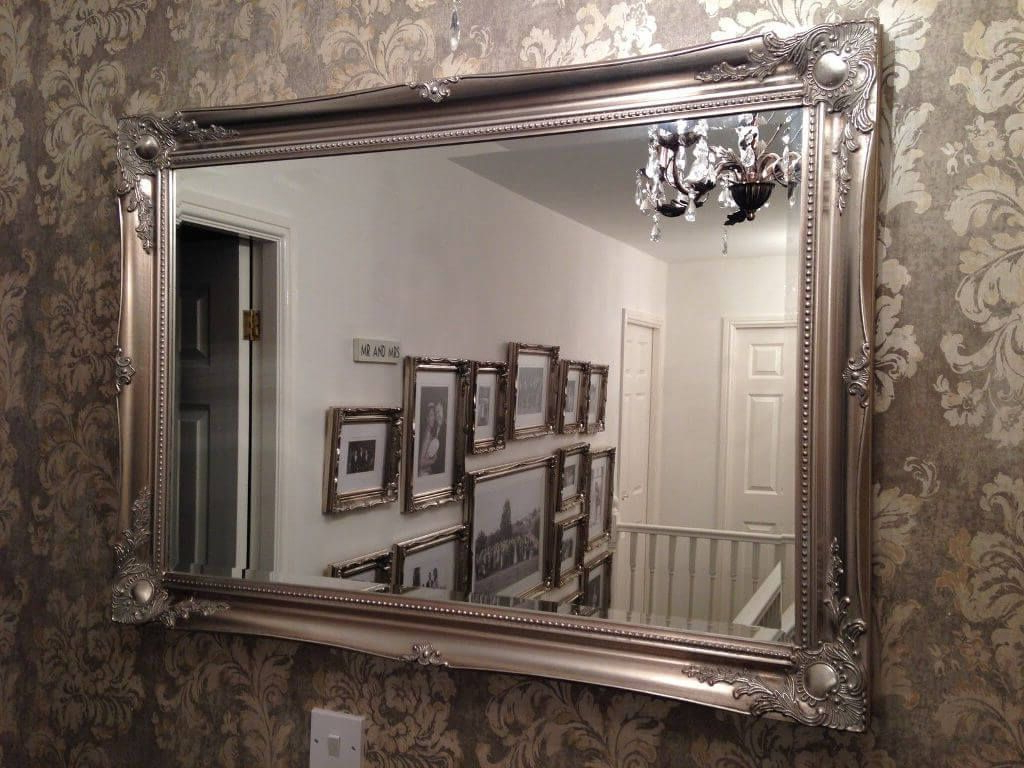 Home Decor Pertaining To Fancy Wall Mirrors (View 6 of 20)