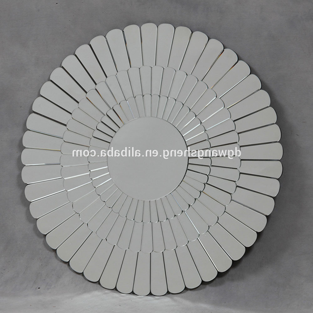 Home Decor Round 3D Unique Wall Mirrors – Buy Luxury Wall Mirrors,designer  Wall Mirror,fancy Wall Mirrors Product On Alibaba Intended For Preferred Unique Wall Mirrors (Gallery 10 of 20)