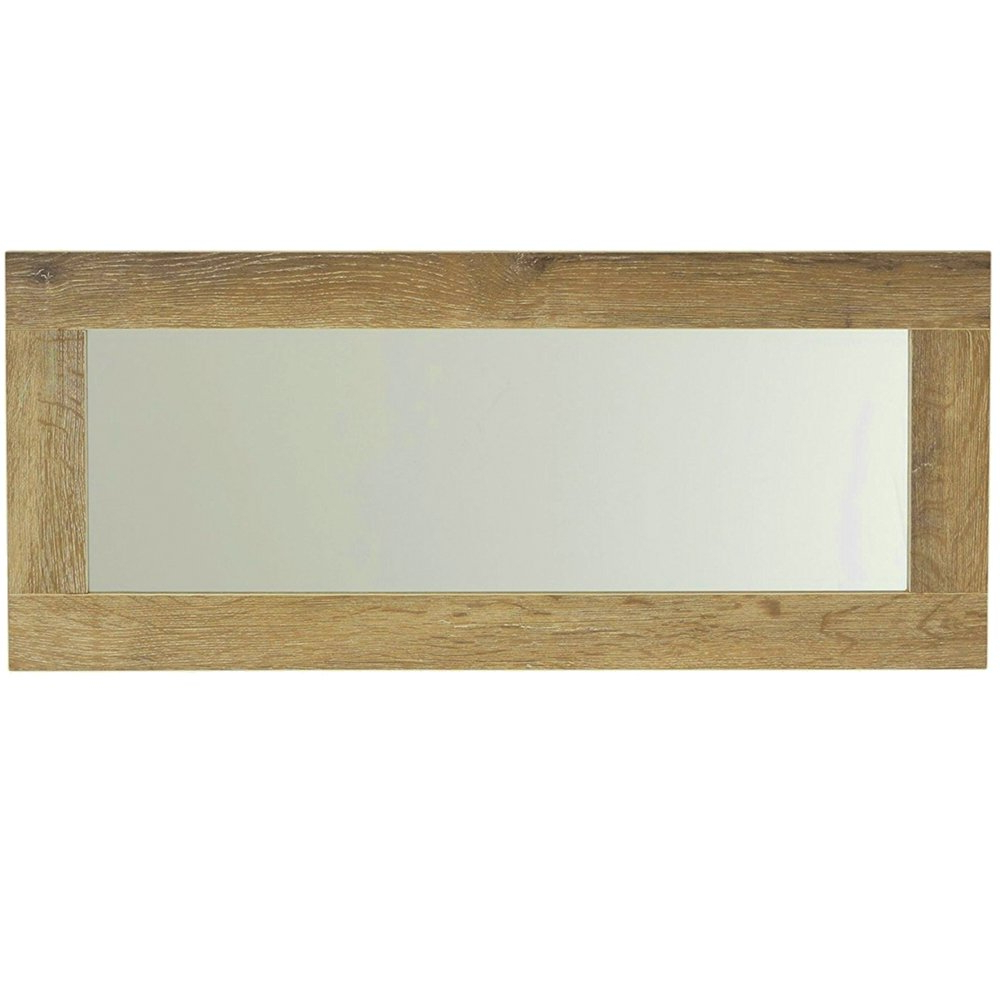 Horizontal Decorative Wall Mirrors Regarding Most Recently Released Amazon: Efd Rustic Wooden Wall Mirror Horizontal Or Vertical (Gallery 18 of 20)