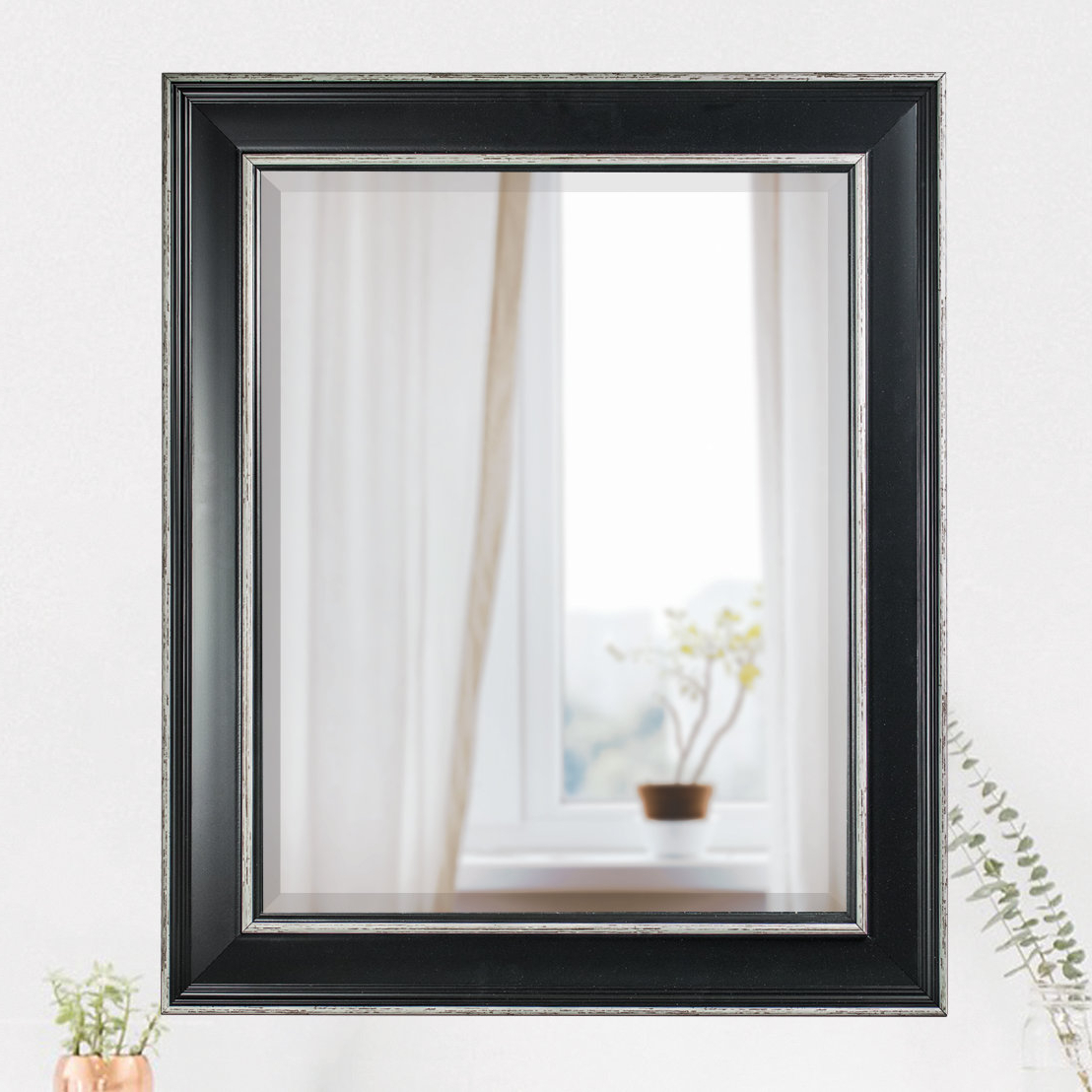 Horizontal Decorative Wall Mirrors With Most Popular Horizontal Rectangle Framed Wall Mirror (Gallery 19 of 20)