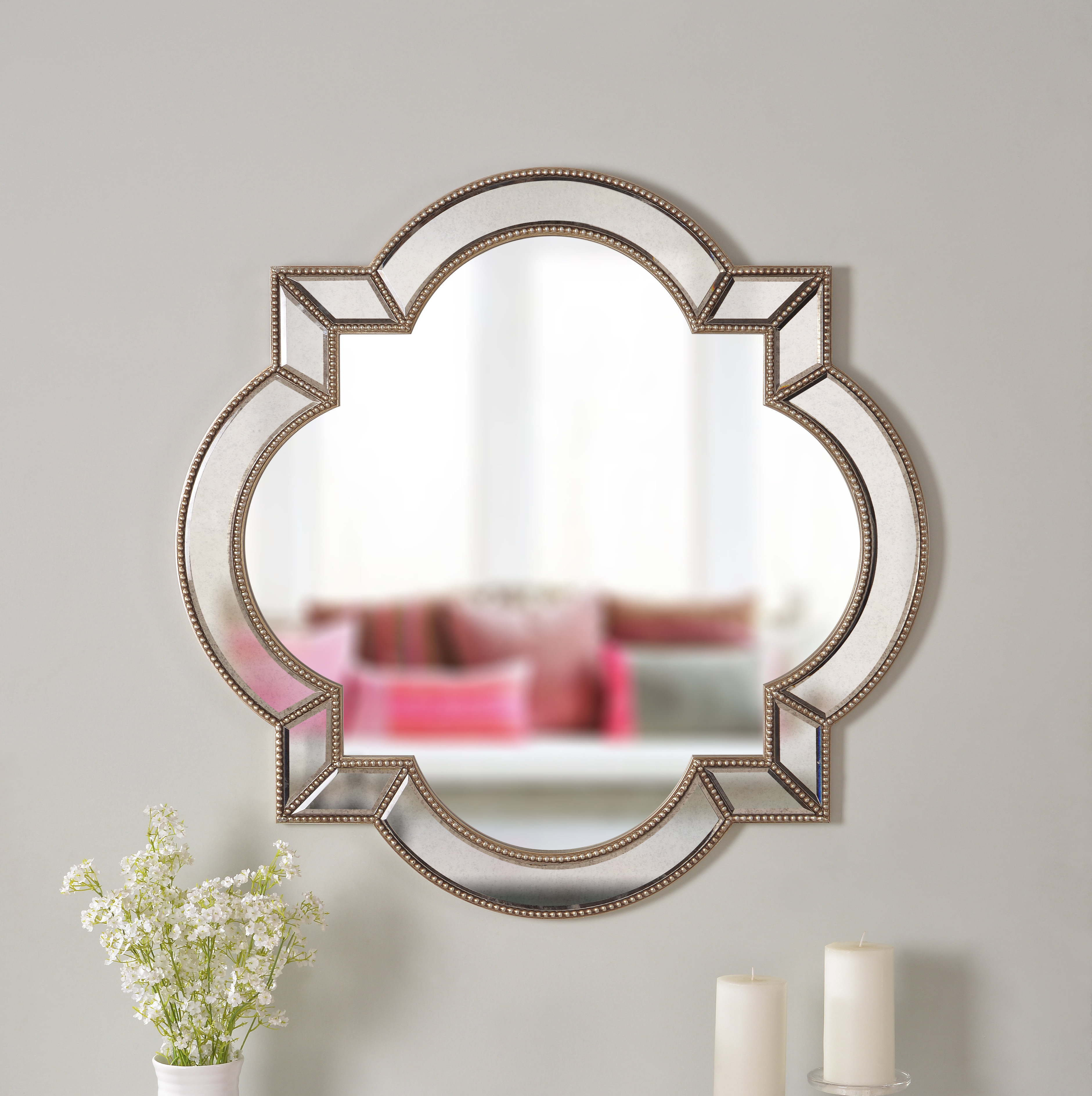 House Of Hampton Camilla Accent Mirror & Reviews (View 9 of 20)