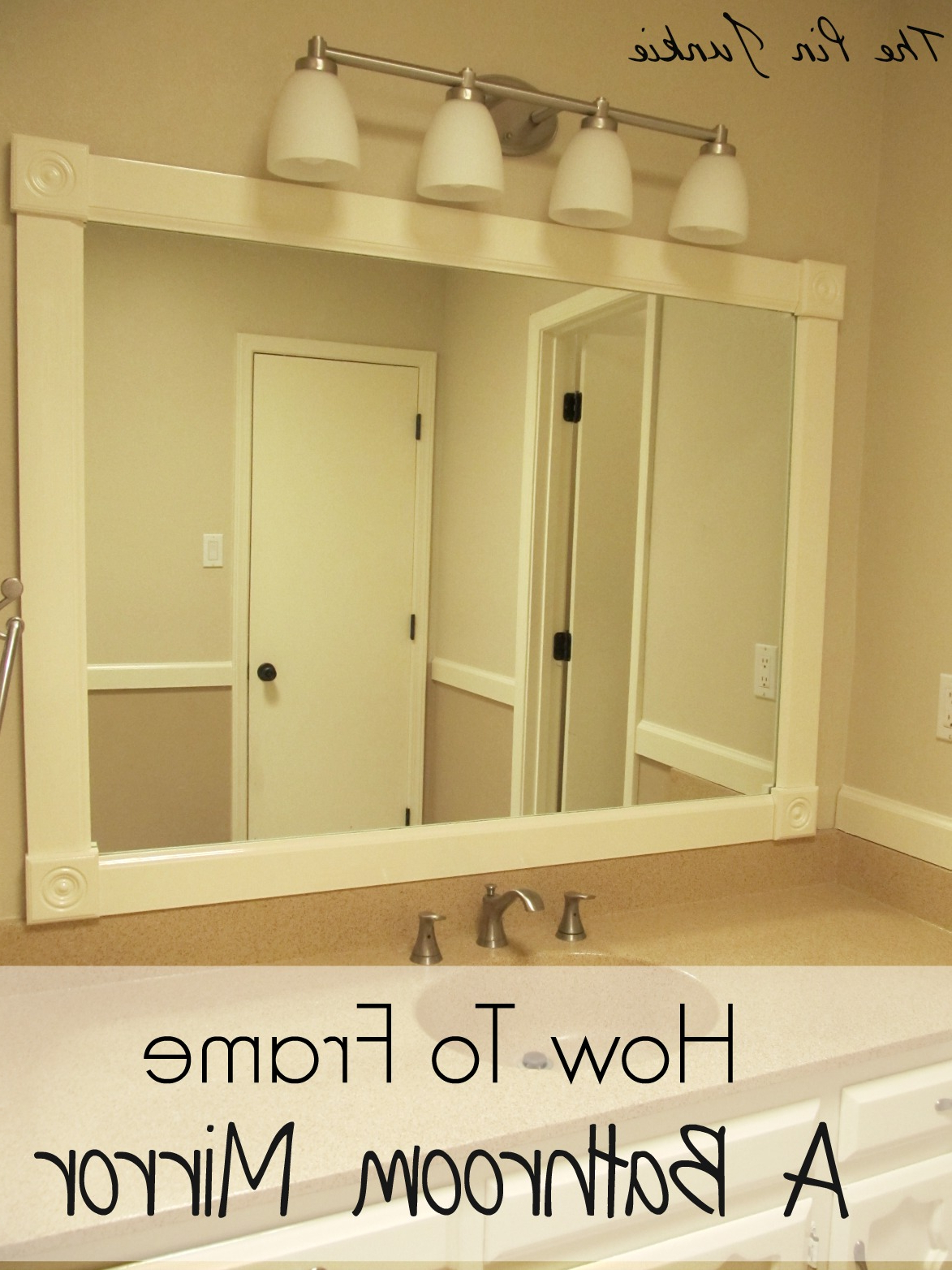 How To Frame A Bathroom Mirror Within Well Known Frames For Bathroom Wall Mirrors (View 4 of 20)