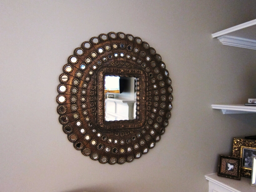 How To Hang Large Decorative Wall Mirrors (Gallery 11 of 20)