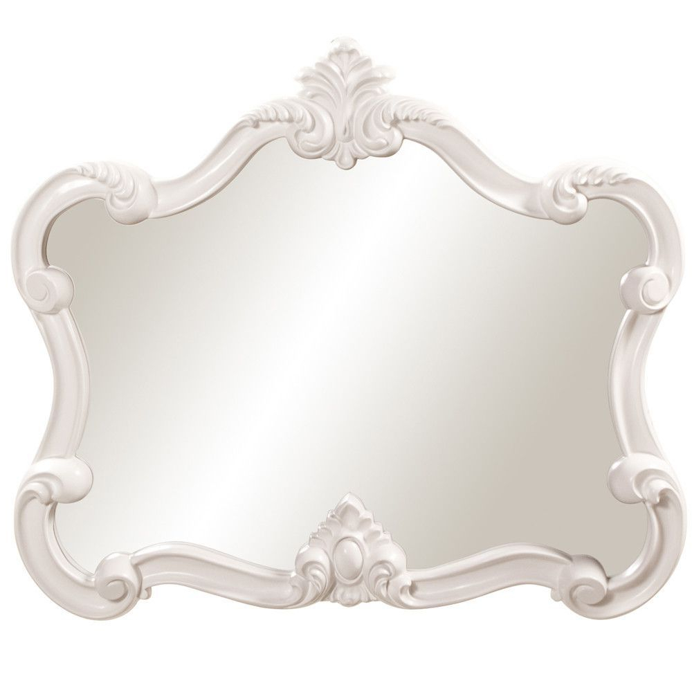 Howard Elliott Veruca White Mirror 32H X 28W X 2D –  (View 15 of 20)