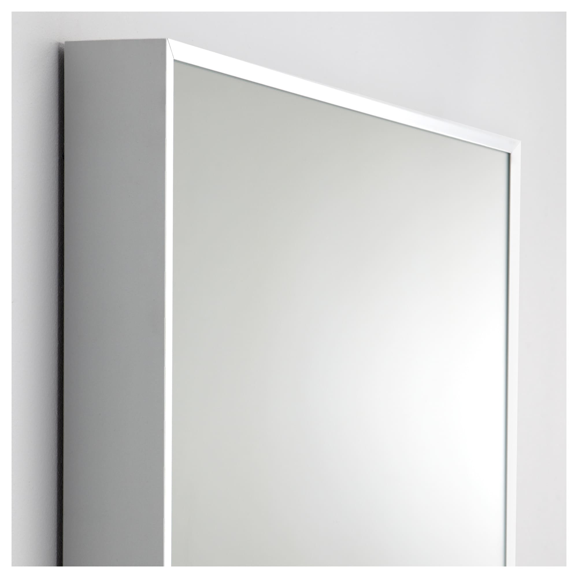 Ikea Full Length Wall Mirrors Throughout Famous Hovet – Mirror, Aluminum (View 6 of 20)