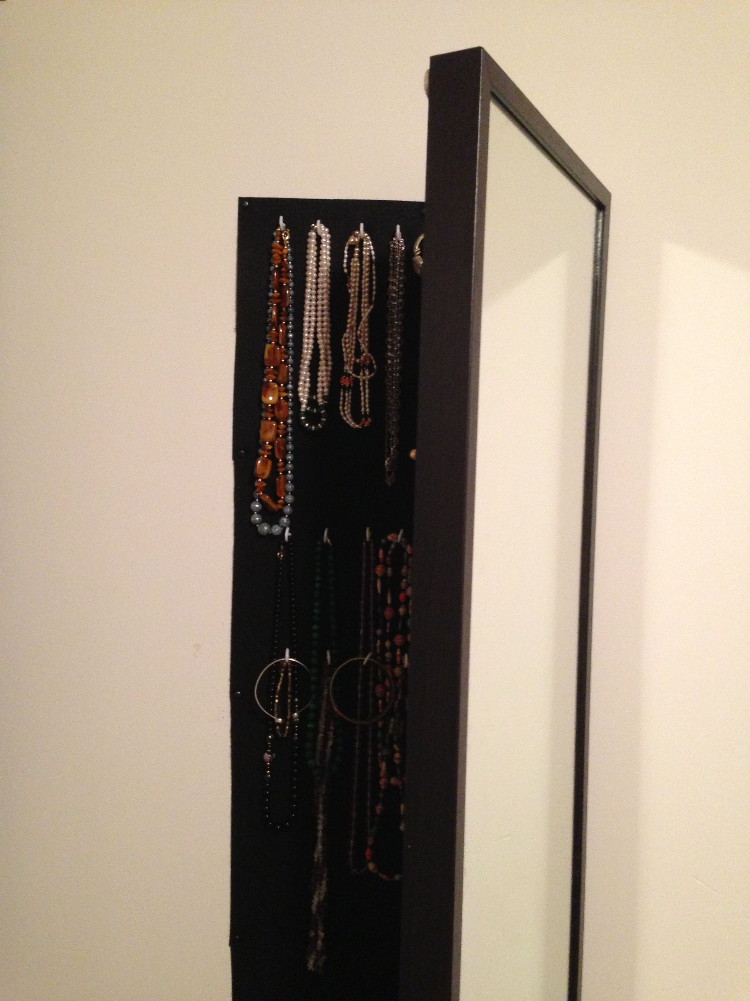 Ikea Hack – Hanging Mirror/jewelry Armoire ($150 $300 Normally) Only Inside Famous Hinged Wall Mirrors (View 12 of 20)