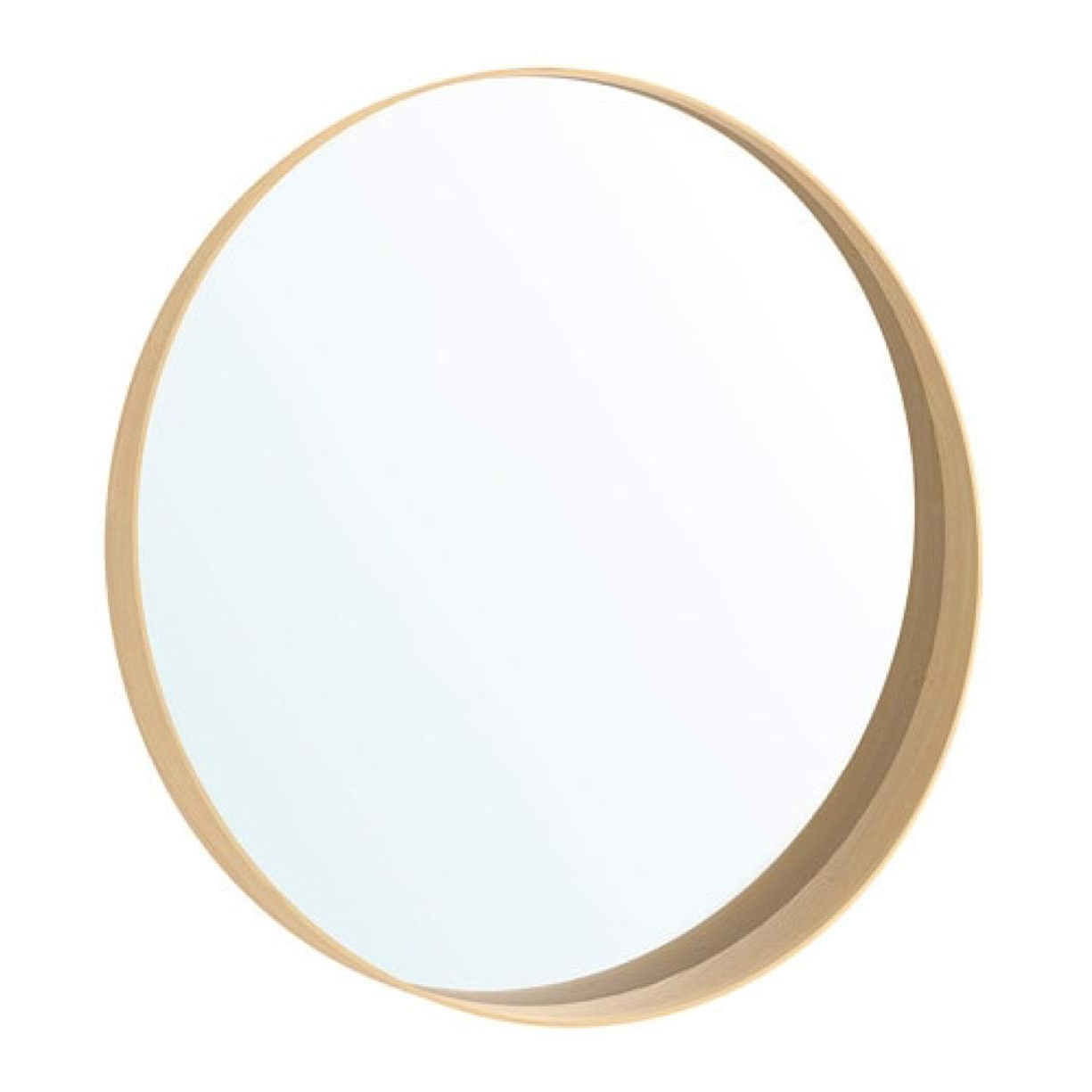 Ikea Round Wall Mirrors Pertaining To Preferred Ikea Stockholm Wall Mirror, Walnut Veneer 602. (View 4 of 20)