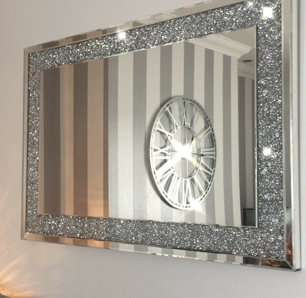 Featured Photo of Large Silver Wall Mirrors
