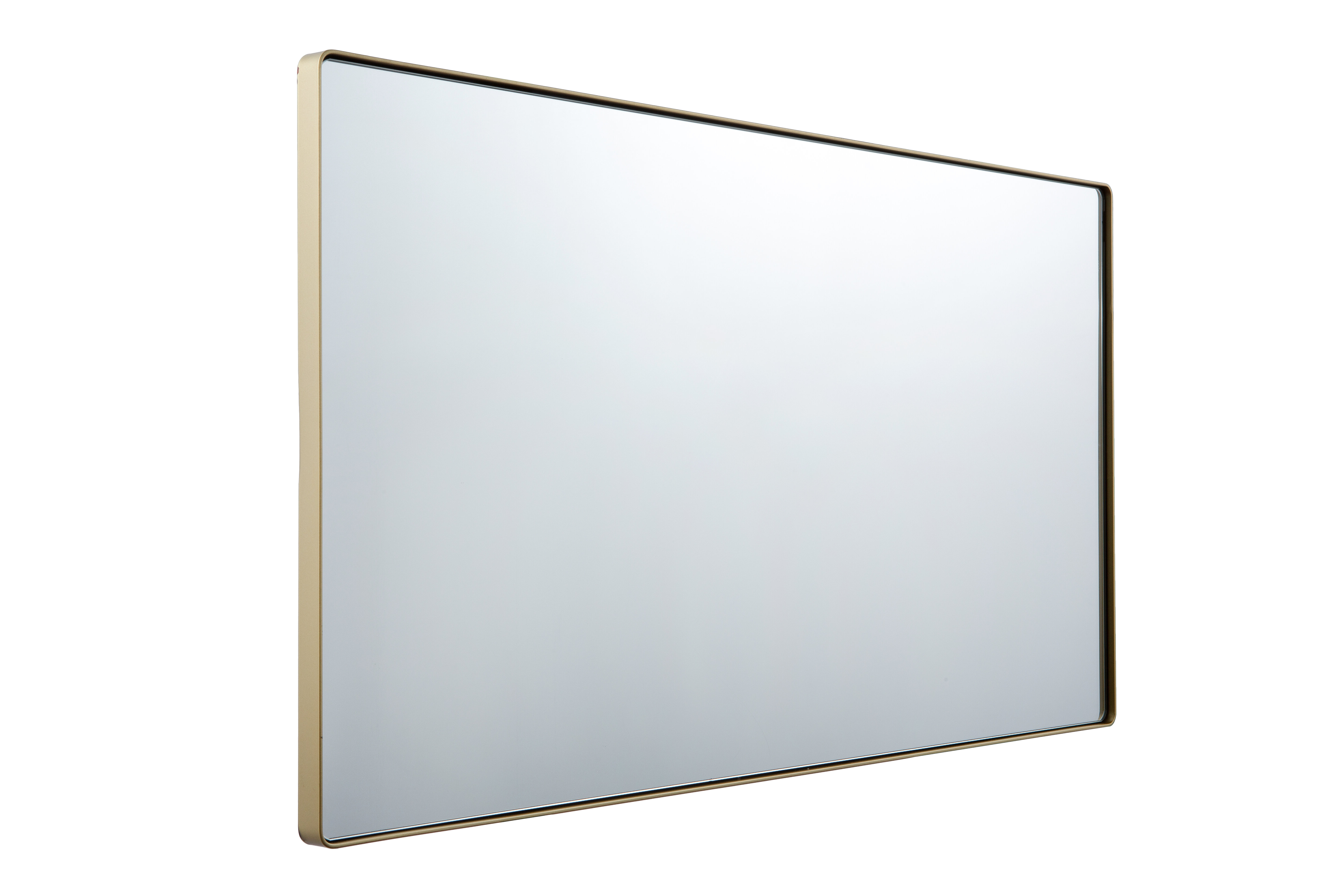 Industrial Modern & Contemporary Wall Mirrors In Most Recently Released Markham Rounded Rectangular Modern & Contemporary Wall Mirror (View 8 of 20)