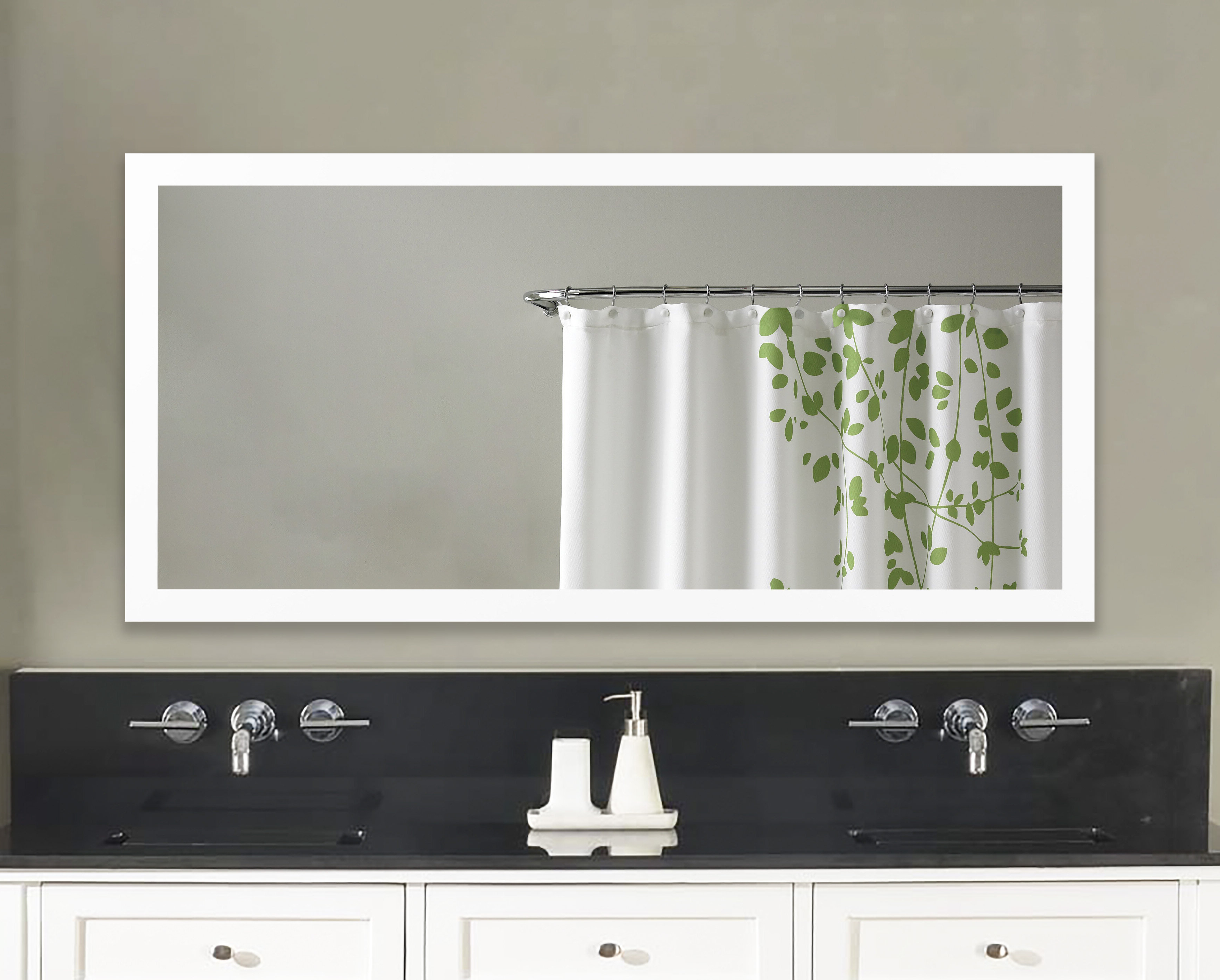 Industrial Modern & Contemporary Wall Mirrors In Trendy Industrial Modern & Contemporary Wall Mirror (View 9 of 20)