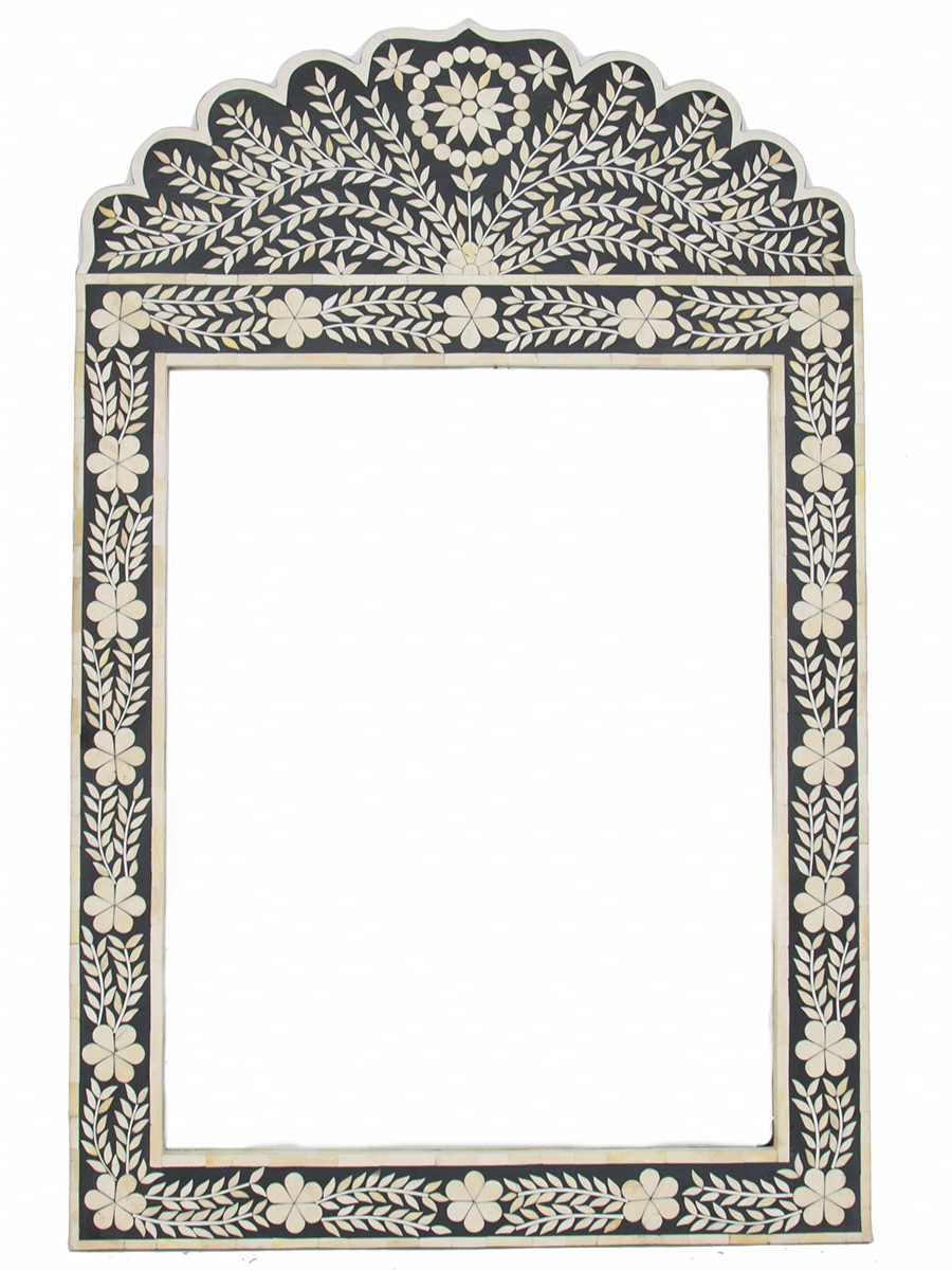 Isla Bone Inlay Mirrormoroccan Bazaar In Wall Mirrors With Most Up To Date Moroccan Wall Mirrors (Gallery 20 of 20)