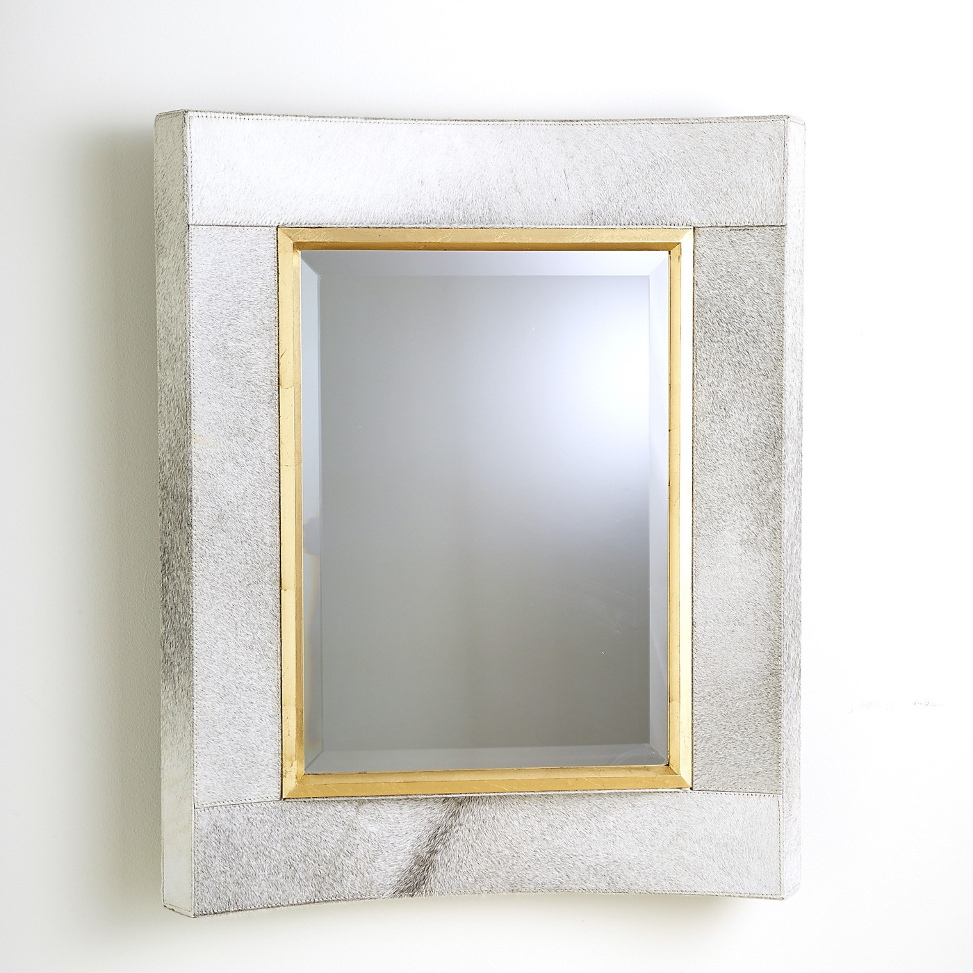 Ivory Wall Mirrors Intended For Preferred Modo Cowhode Wall Mirror (View 11 of 20)