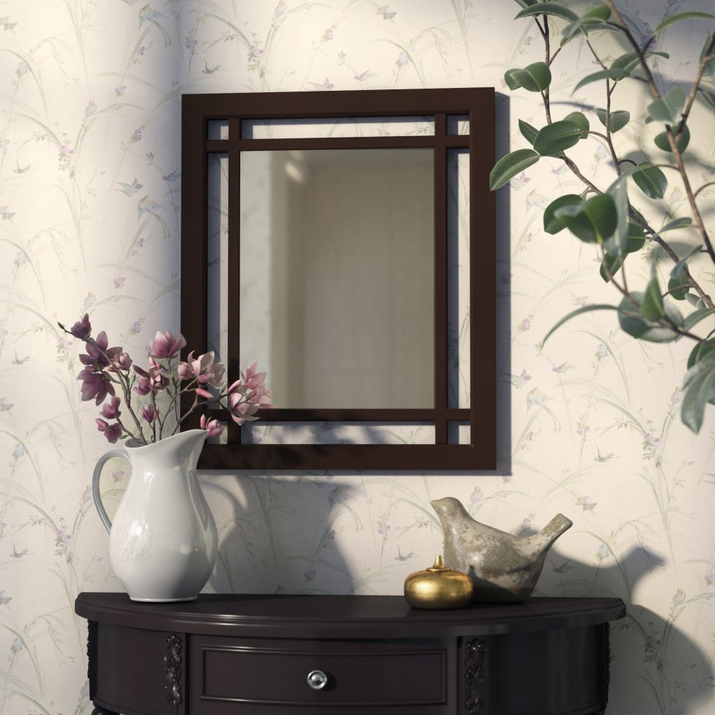 Janie Rectangular Wall Mirrors Throughout Preferred Rectangular Wall Mirror (Gallery 9 of 20)