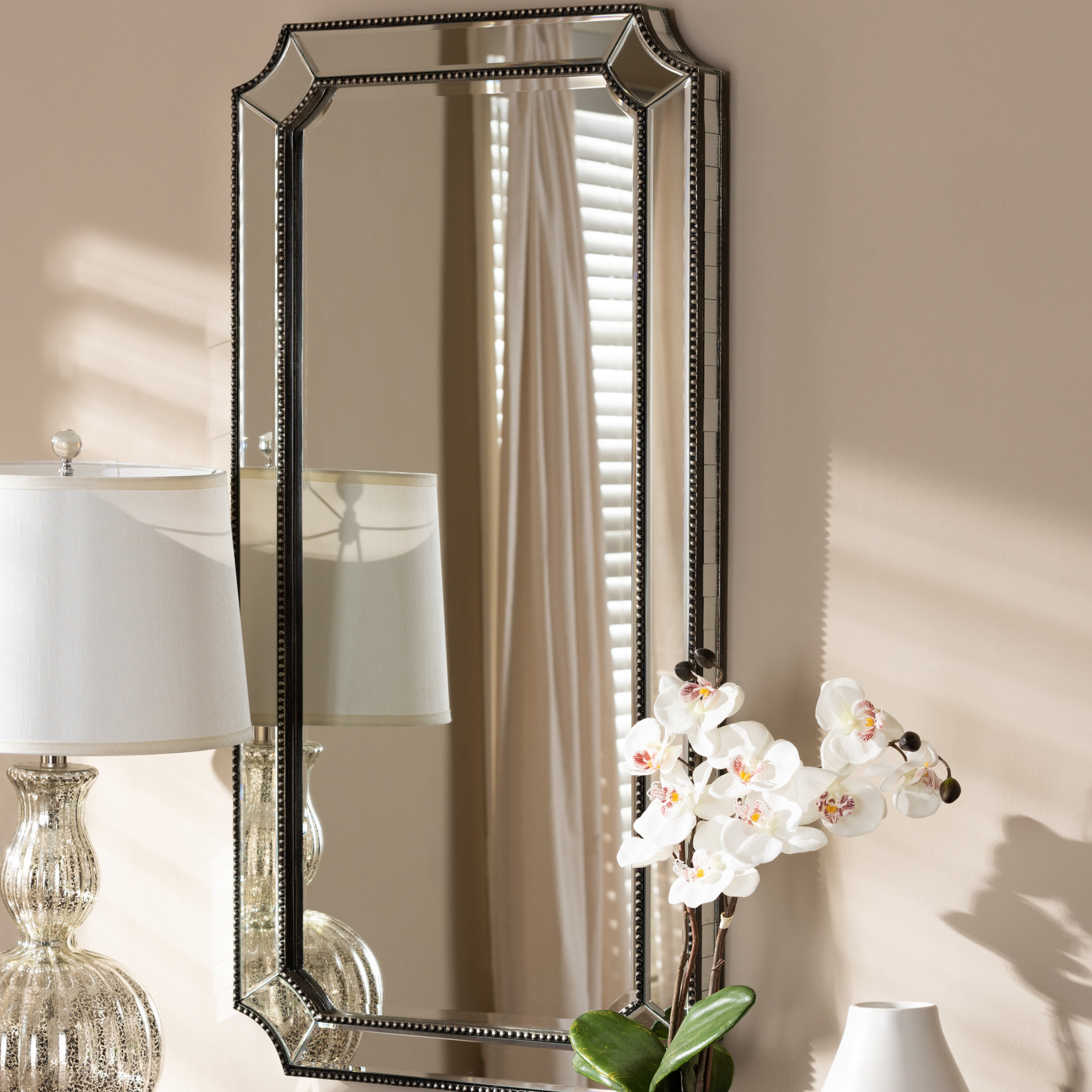 Jerrell Wall Mirror Regarding Well Known Polen Traditional Wall Mirrors (Gallery 10 of 20)