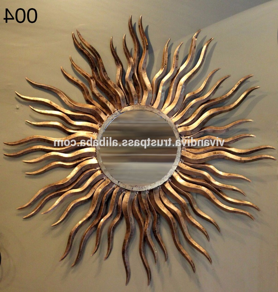 Jodhpur Handicrafts – Buy  Unique Wall Mirrors,decorative Metal Wall Mirror,handicraft Wall Hanging (Gallery 5 of 20)