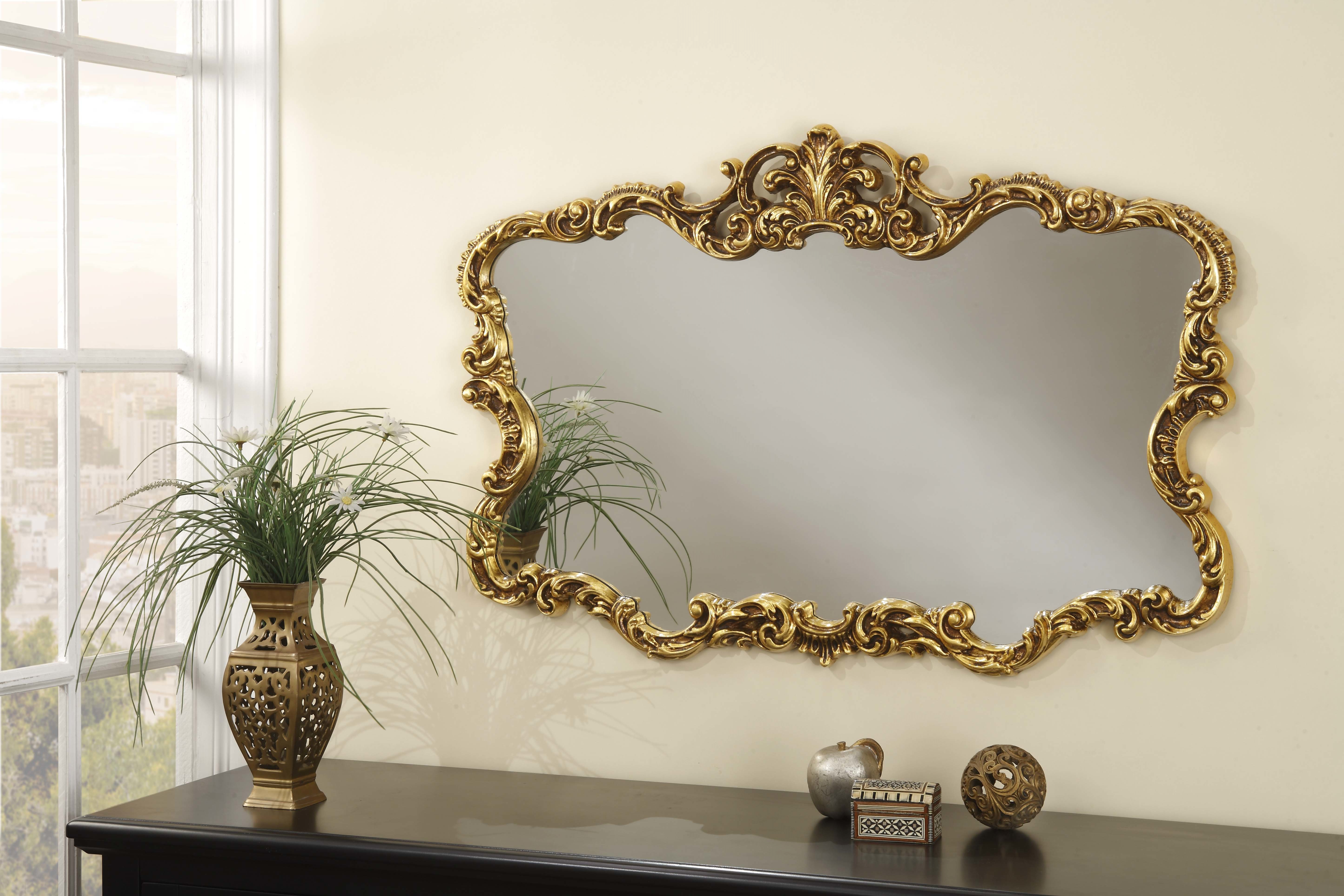 Jovanny Wall Mirror Pertaining To Trendy Saylor Wall Mirrors (View 3 of 20)