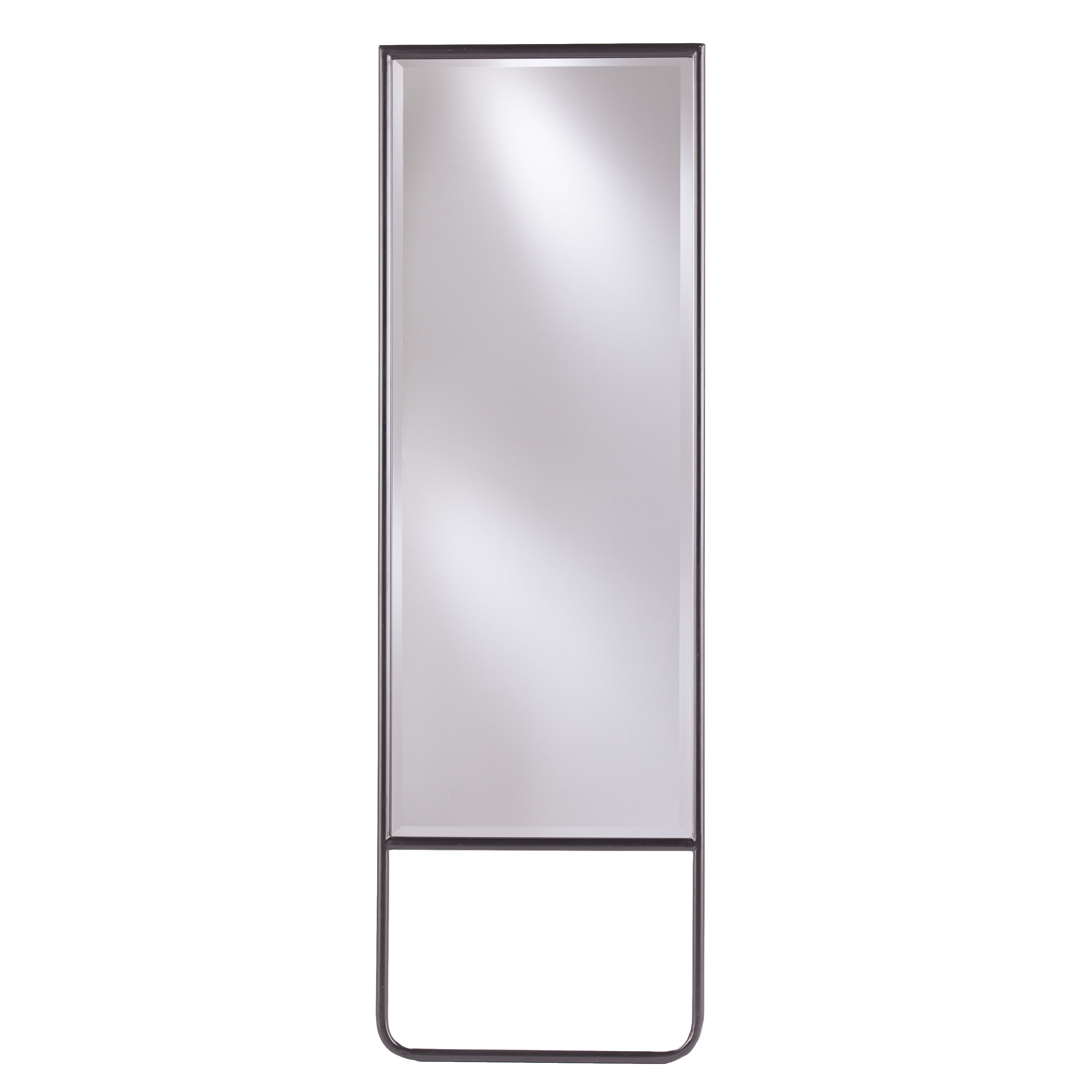 Karcher Leaning Full Length Mirror Pertaining To Most Current Full Length White Wall Mirrors (View 9 of 20)