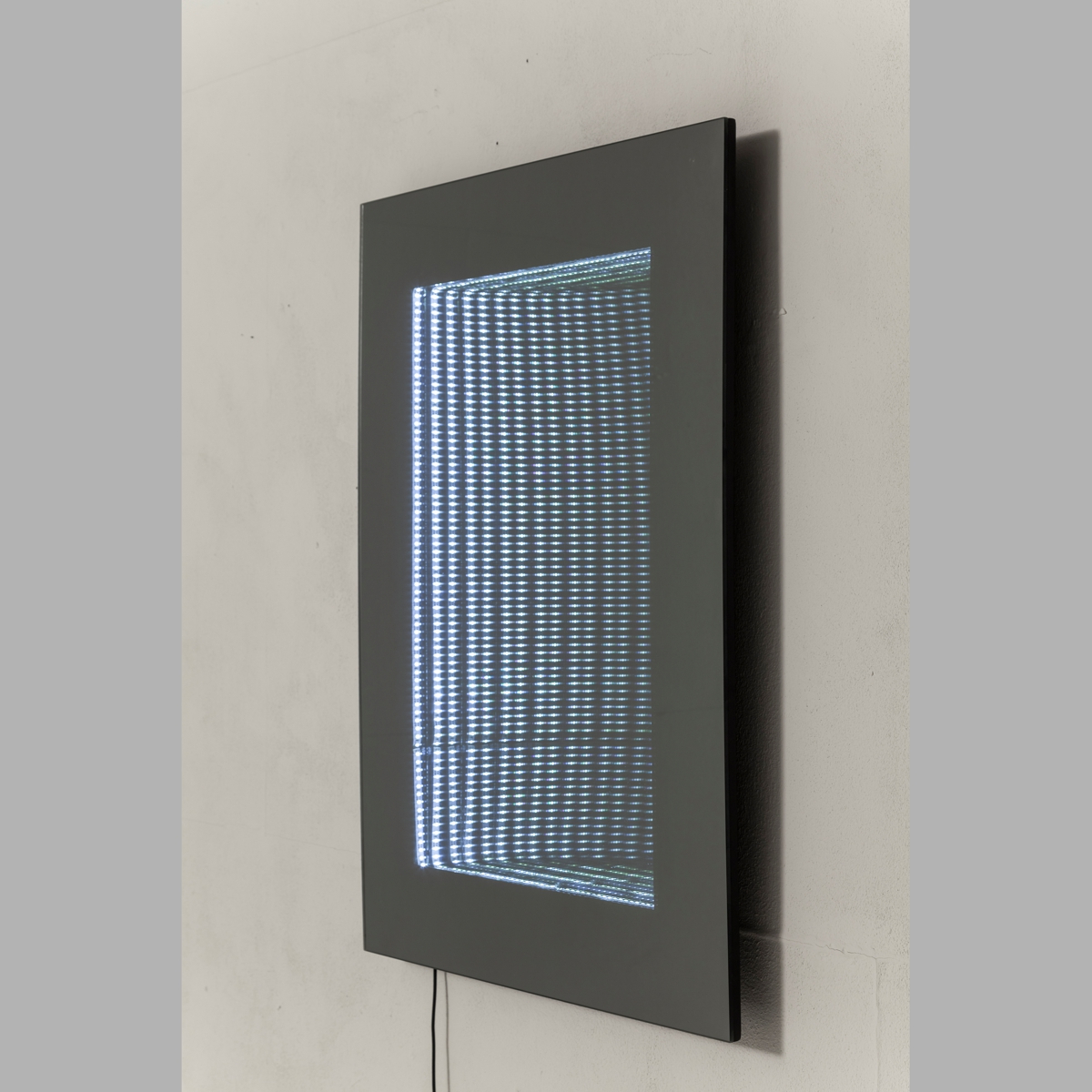 Kare Led Infinity Wall Mirror Rectangle Throughout Trendy Infinity Wall Mirrors (Gallery 5 of 20)