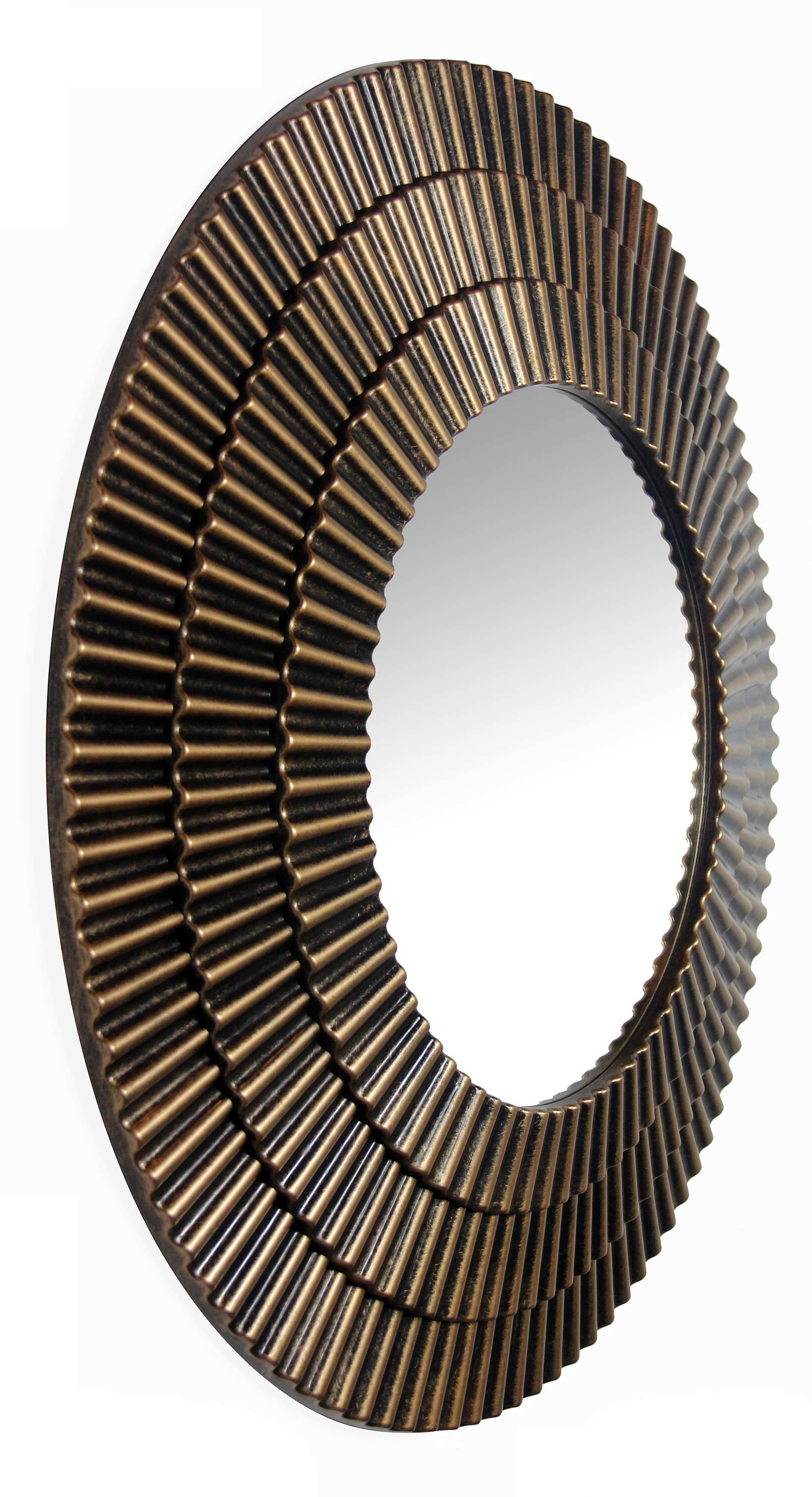 Karn Vertical Round Resin Wall Mirrors For Recent Robey Wall Mirror (Gallery 15 of 20)