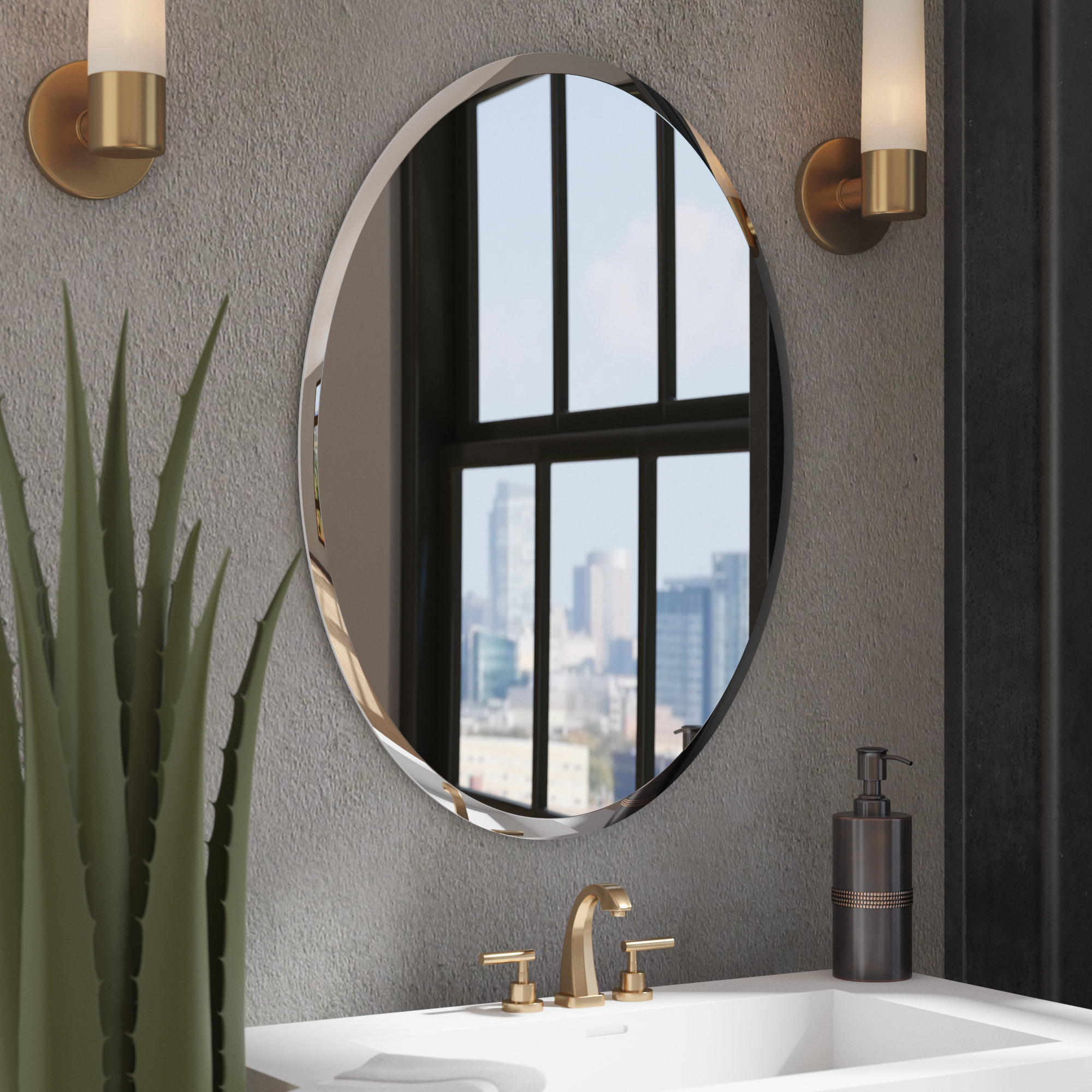 Kayden Accent Mirrors Within Most Popular Kayden Bathroom Mirror (Gallery 12 of 20)