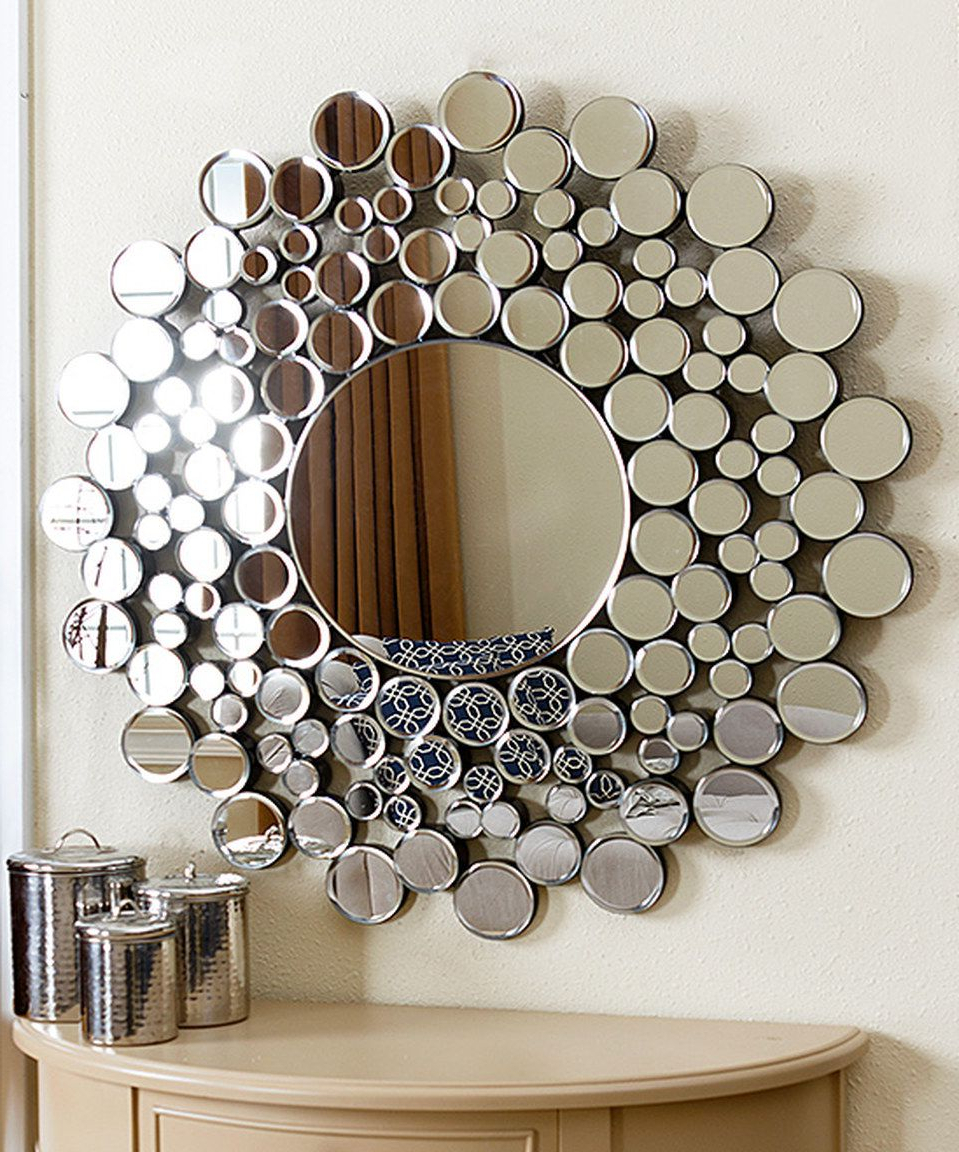 Kentwood Round Wall Mirrors In Most Popular Look At This #zulilyfind! Buchon Round Bubble Wall Mirrorabbyson (Gallery 3 of 20)