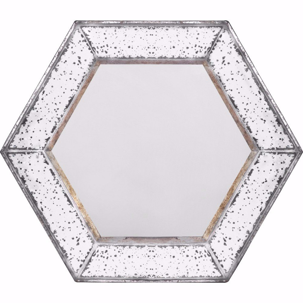 Kettler Intriguing Hexagonal Accent Mirror Within Fashionable Gia Hexagon Accent Mirrors (Gallery 17 of 20)