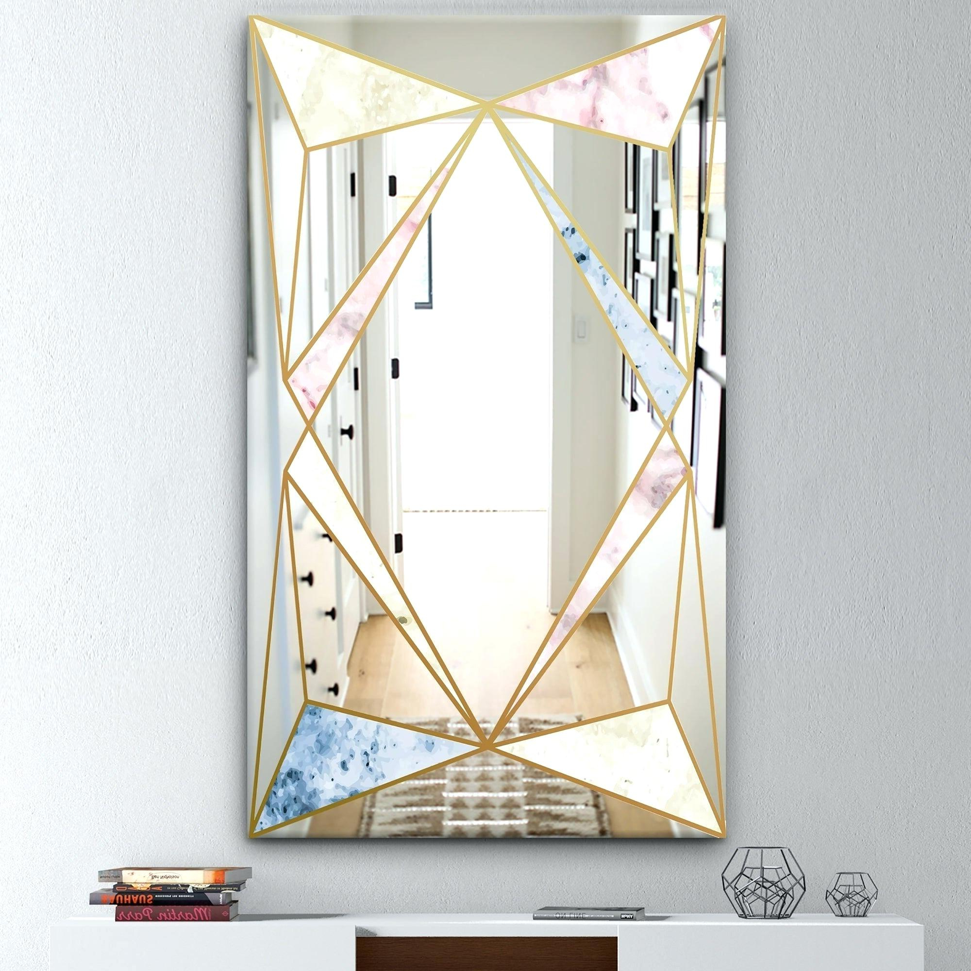 Kids Wall Mirrors In Recent Mid Century Modern Wall Mirror – Sfarmls (View 11 of 20)