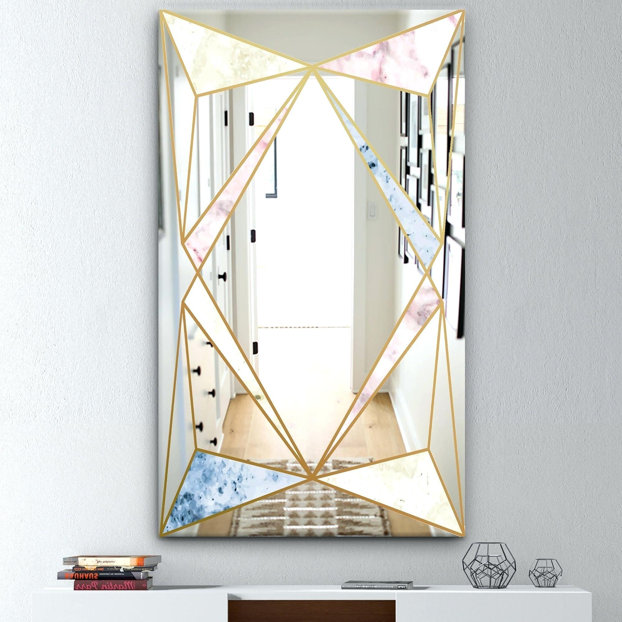 Kids Wall Mirrors In Recent Mid Century Modern Wall Mirror – Sfarmls.co (Gallery 15 of 20)