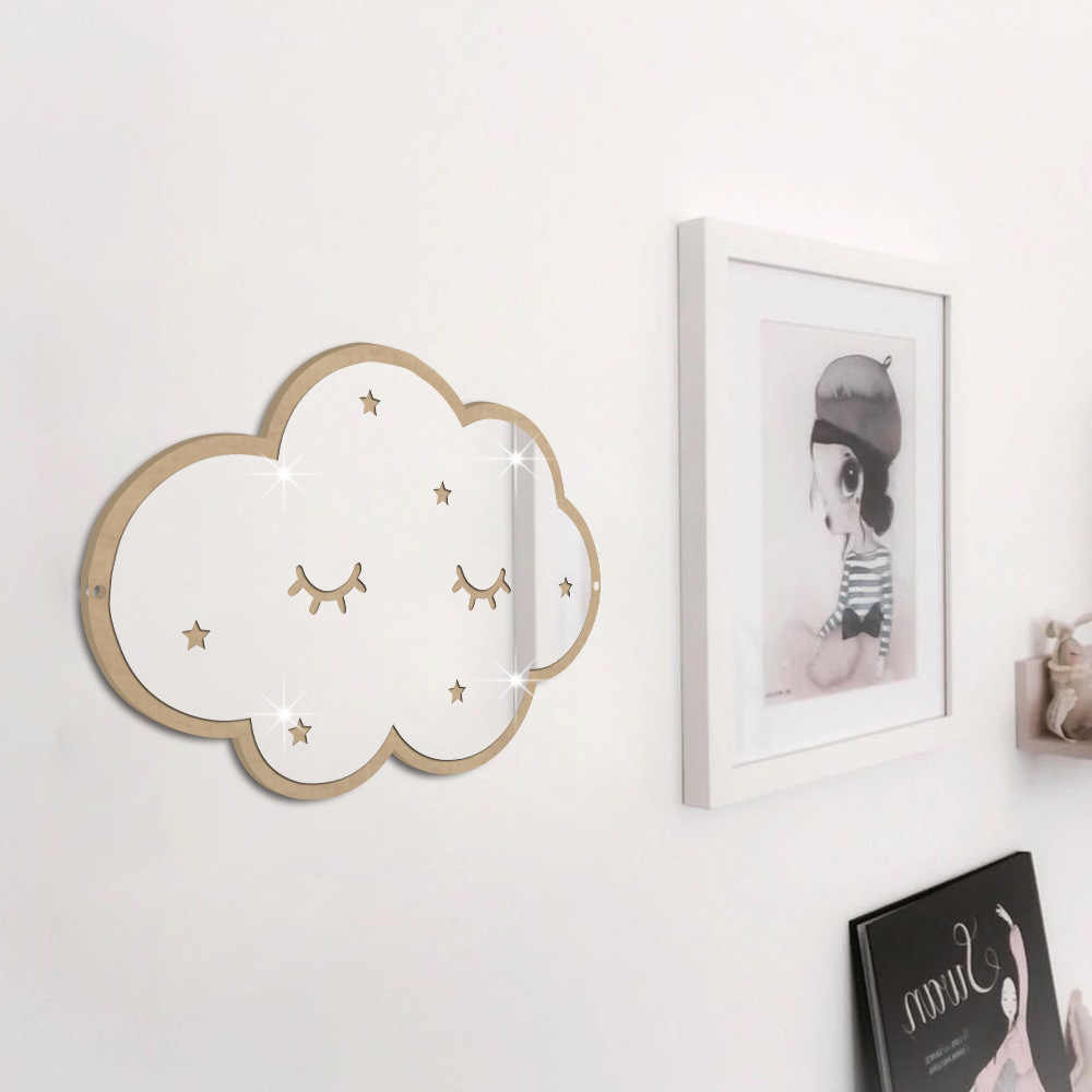 Kids Wall Mirrors With Well Liked Nordic Scandinavia Style Nursery Decorative Mirror Plexiglass Mirror (Gallery 5 of 20)